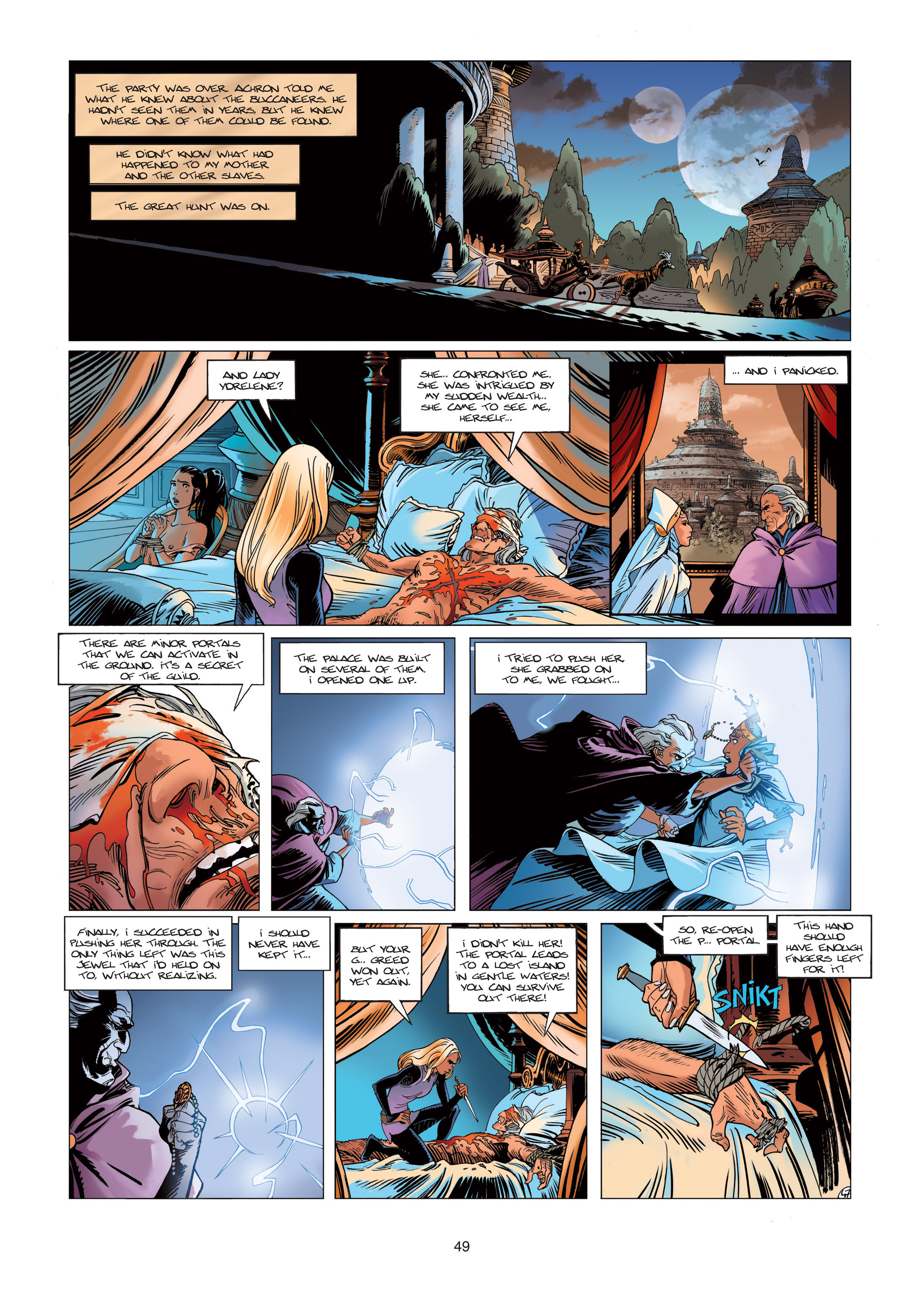 Read online Sangre Vol. 1: Sangre the Survivor comic -  Issue # Full - 49