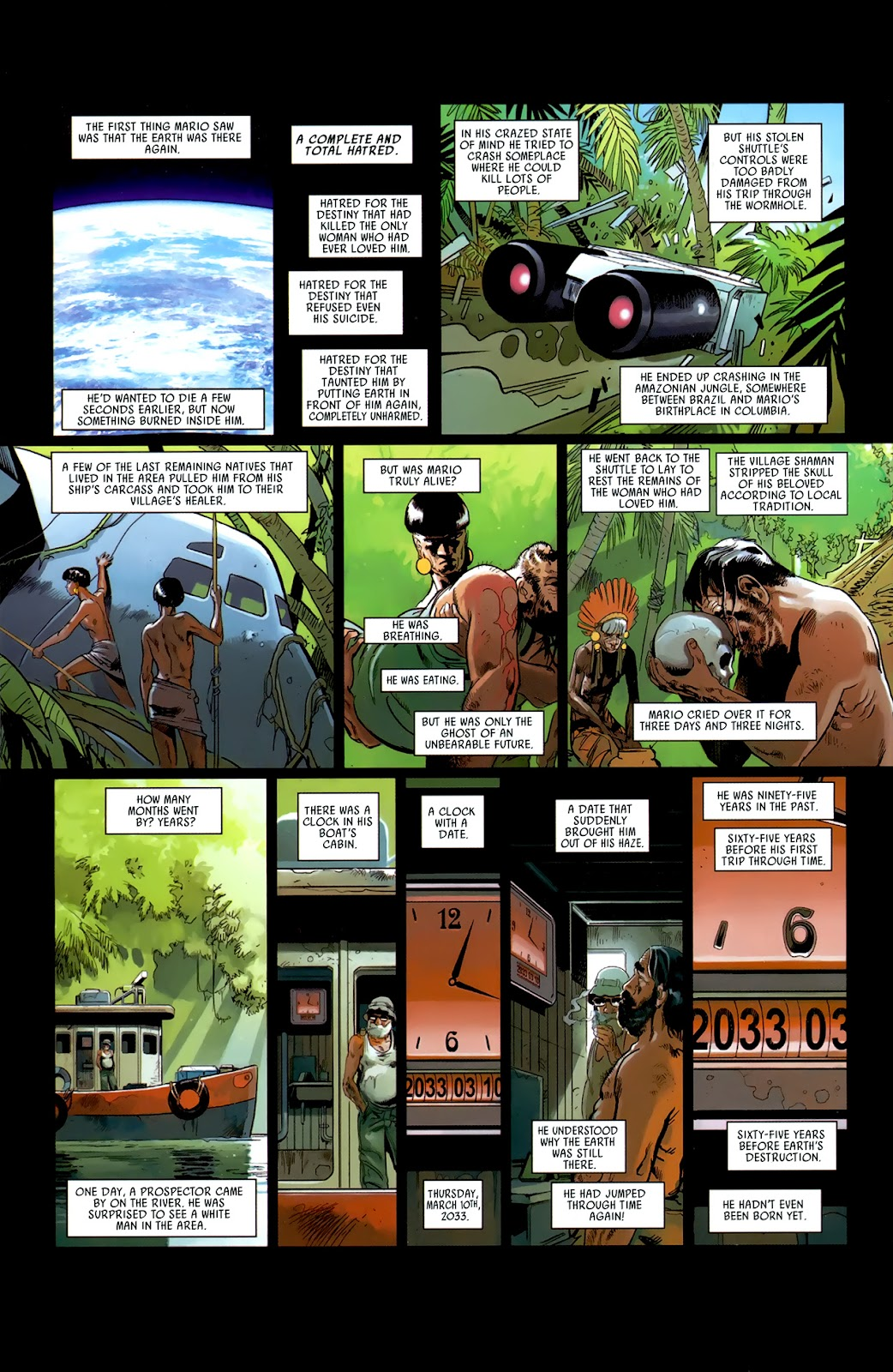 Read online Universal War One: Revelations comic -  Issue #3 - 32