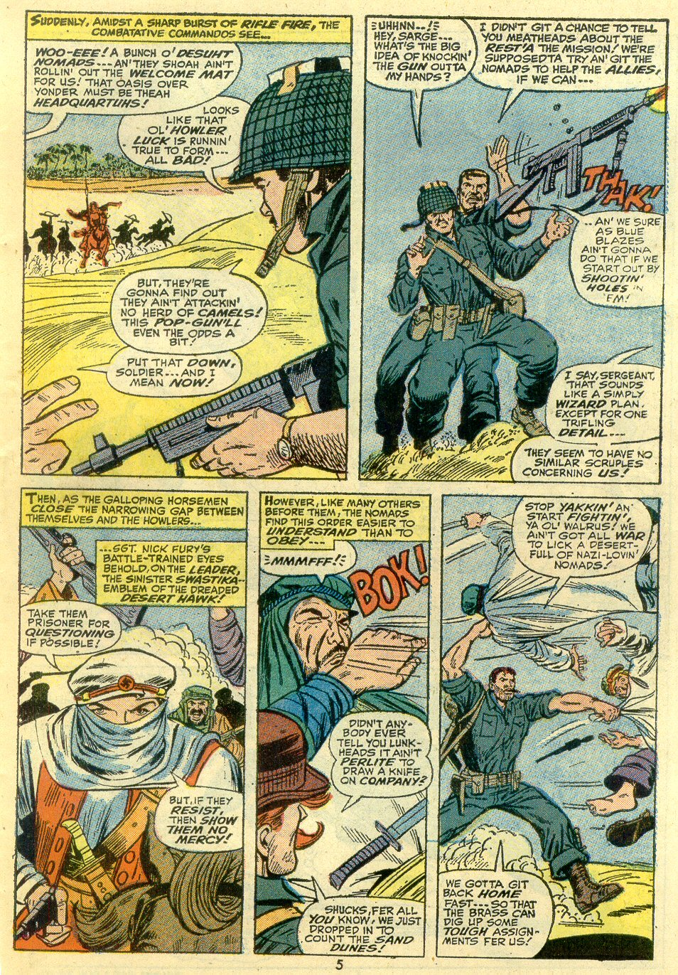 Read online Sgt. Fury comic -  Issue #107 - 7
