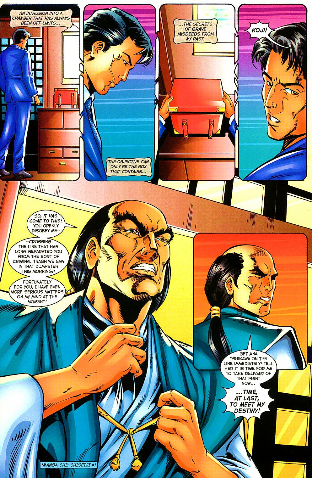 Read online Shi: The Way of the Warrior comic -  Issue #10 - 27