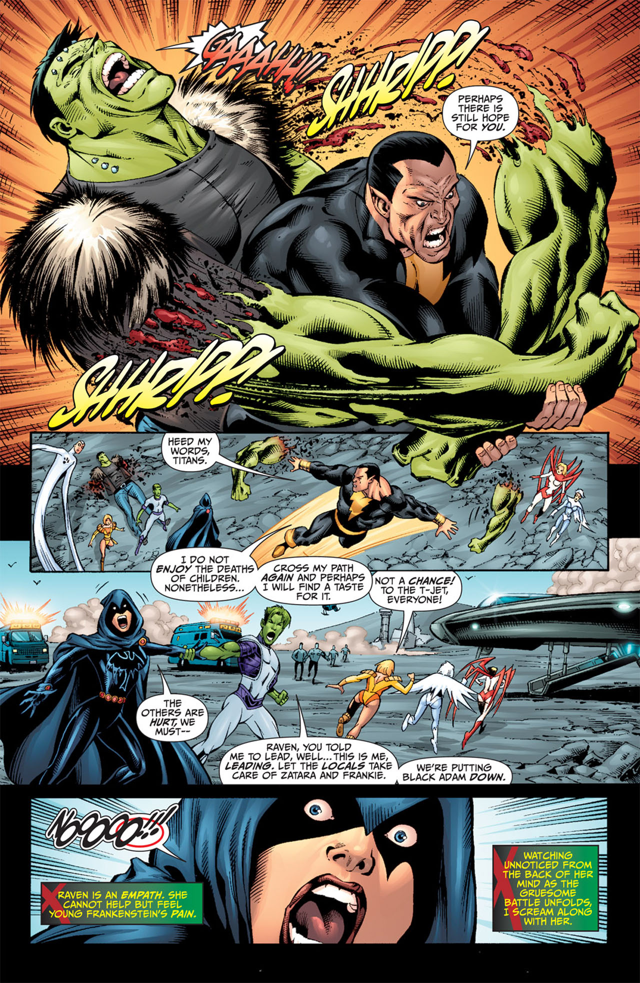 Read online World War III comic -  Issue #3 - 10