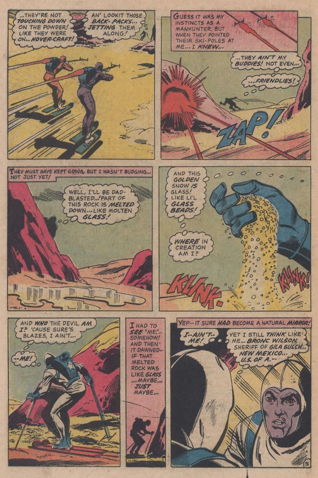 Read online Strange Sports Stories (1973) comic -  Issue #5 - 25