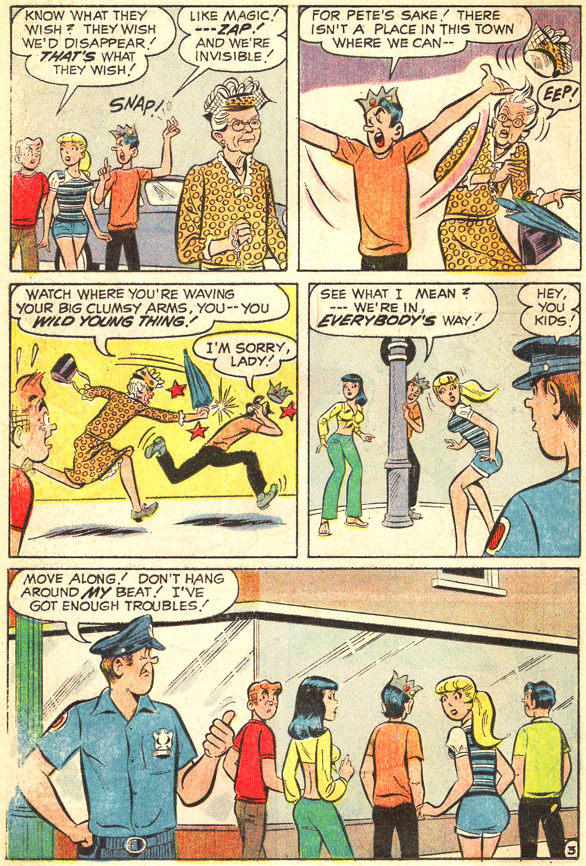 Read online Archie (1960) comic -  Issue #213 - 16