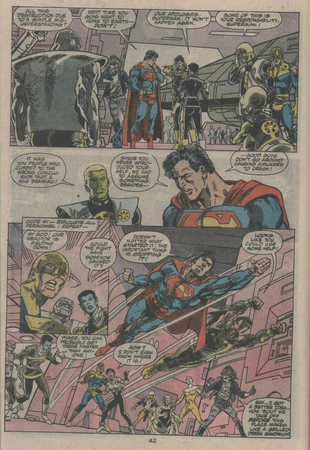 Read online Adventures of Superman (1987) comic -  Issue #Adventures of Superman (1987) _Annual 2 - 42