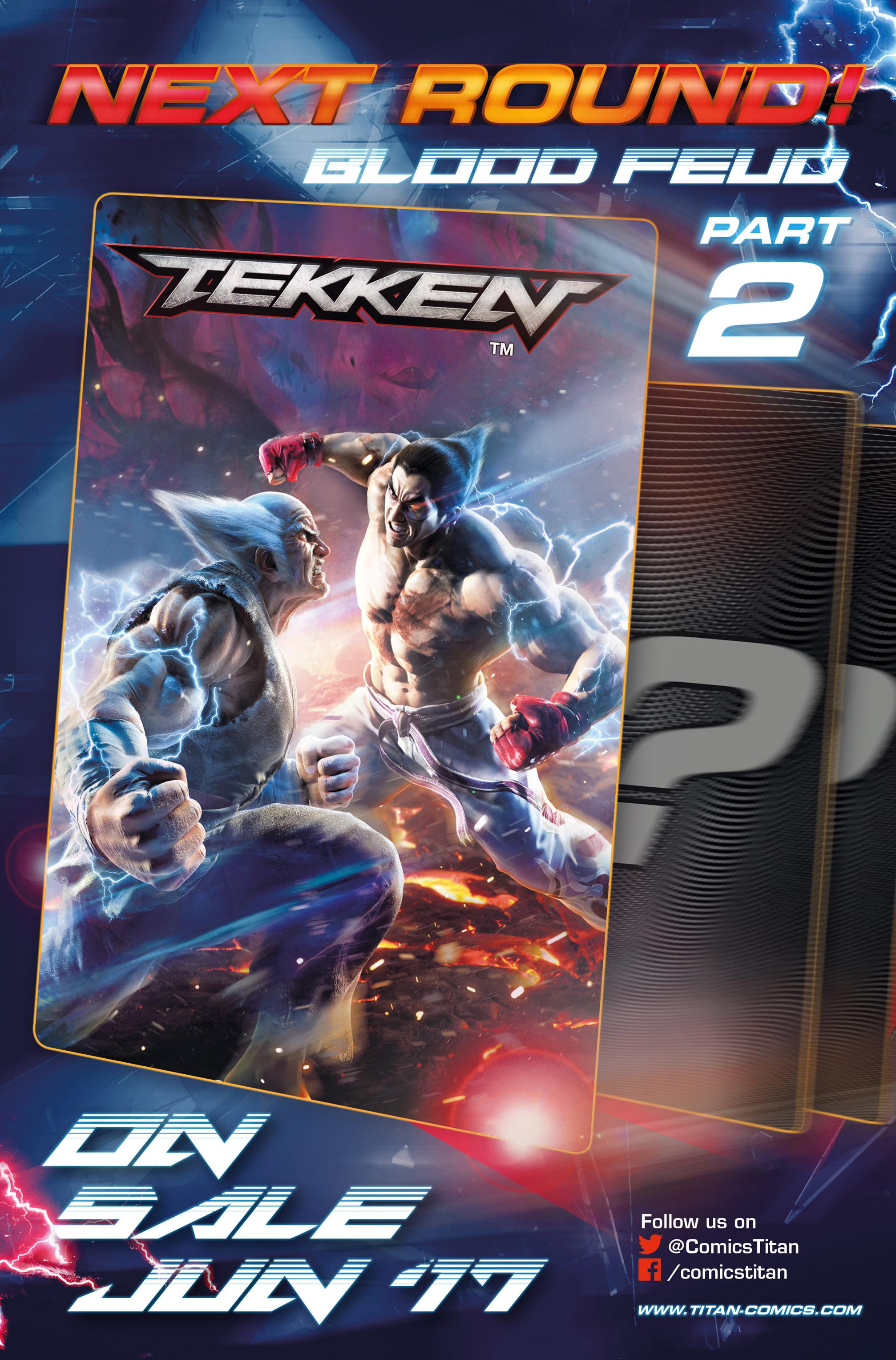 Read online Tekken comic -  Issue #1 - 30