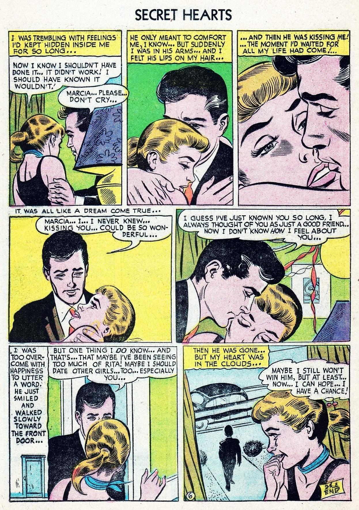 Read online Secret Hearts comic -  Issue #29 - 16