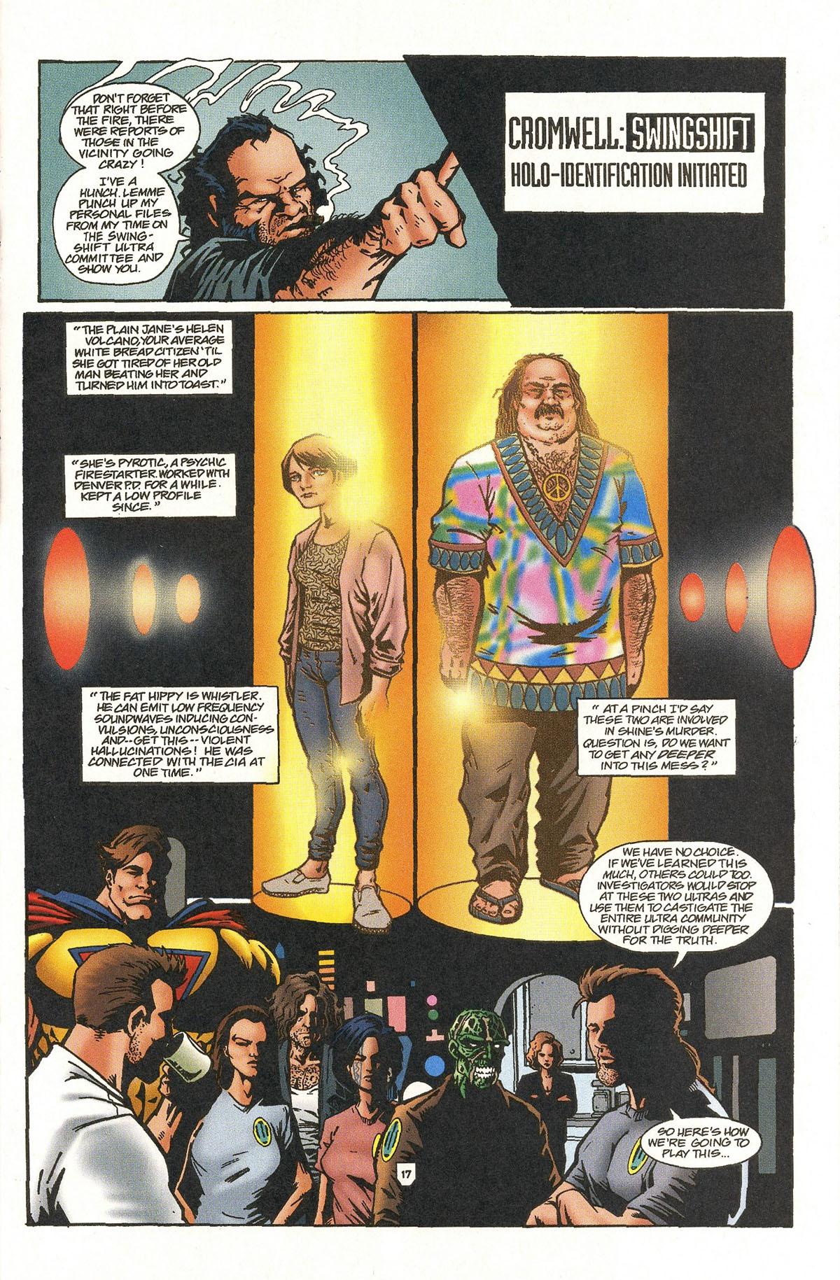 Read online UltraForce (1995) comic -  Issue #5 - 20