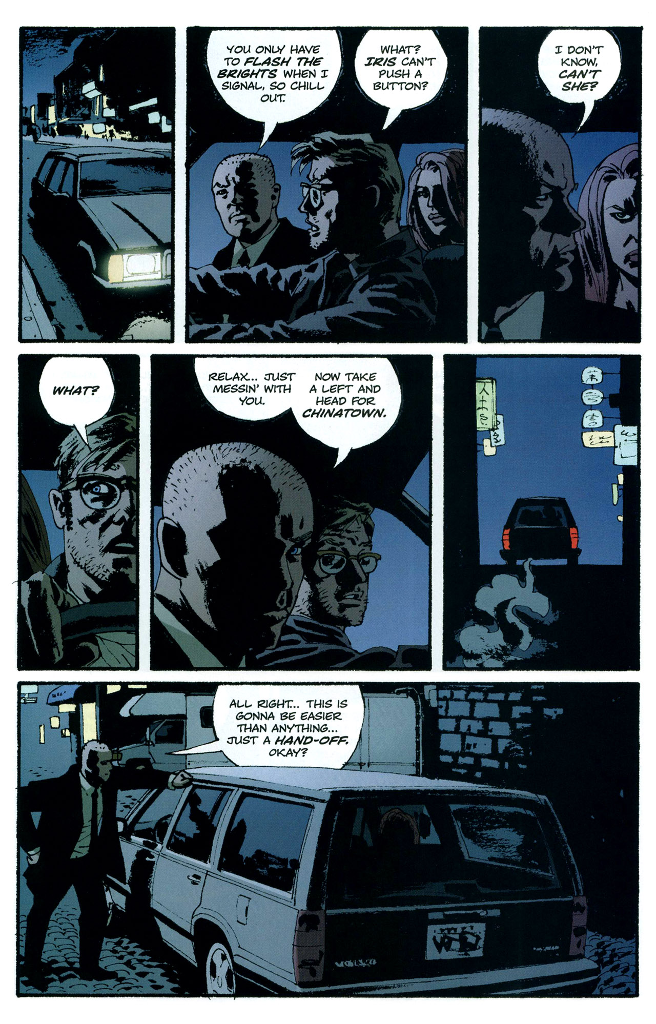 Read online Criminal (2008) comic -  Issue #5 - 19
