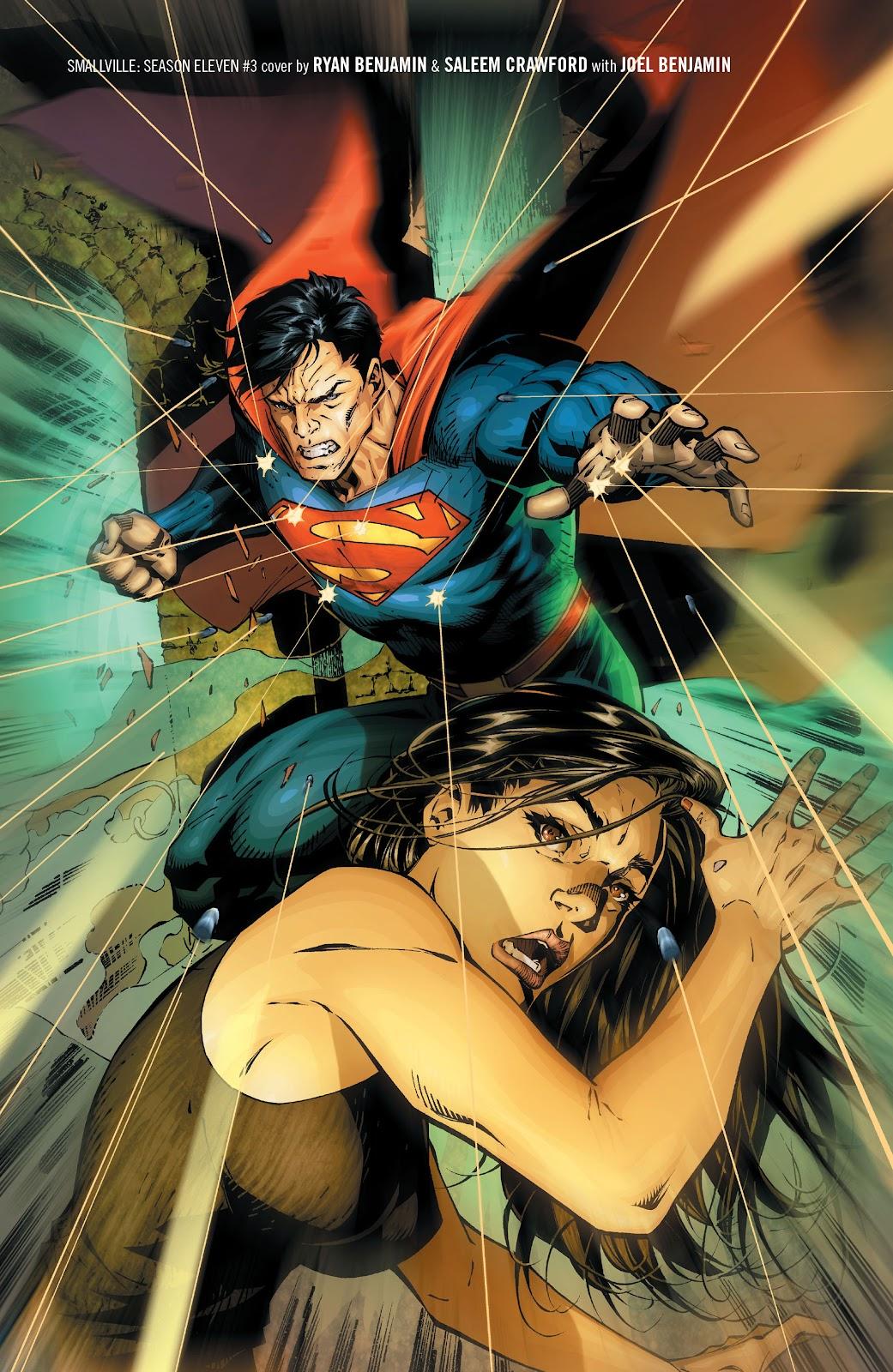 Read online Smallville Season 11 [II] comic -  Issue # TPB 1 - 69