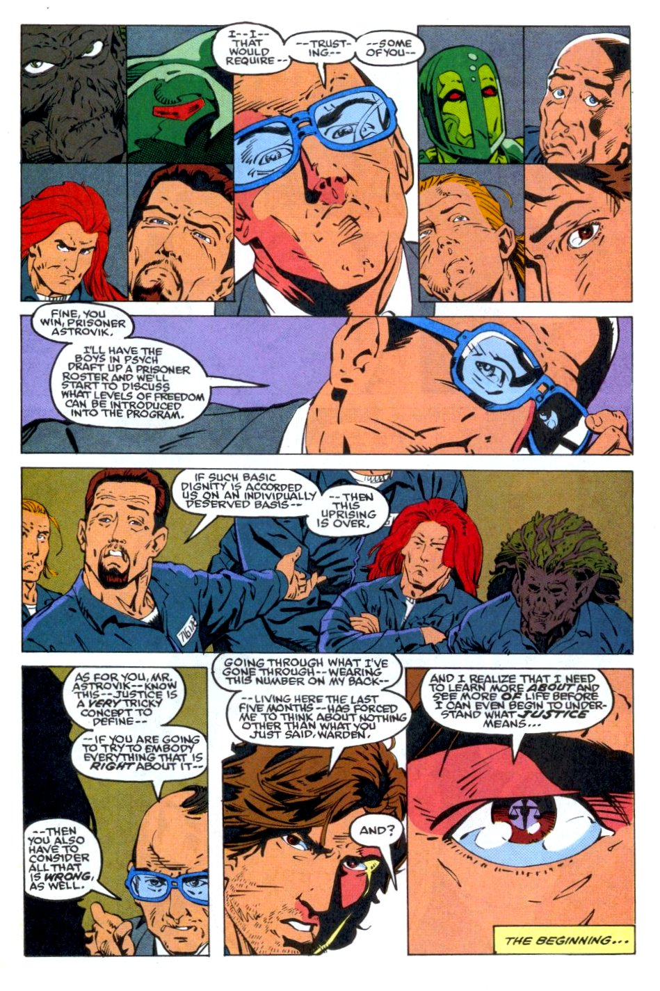 The New Warriors Issue #36 #40 - English 22