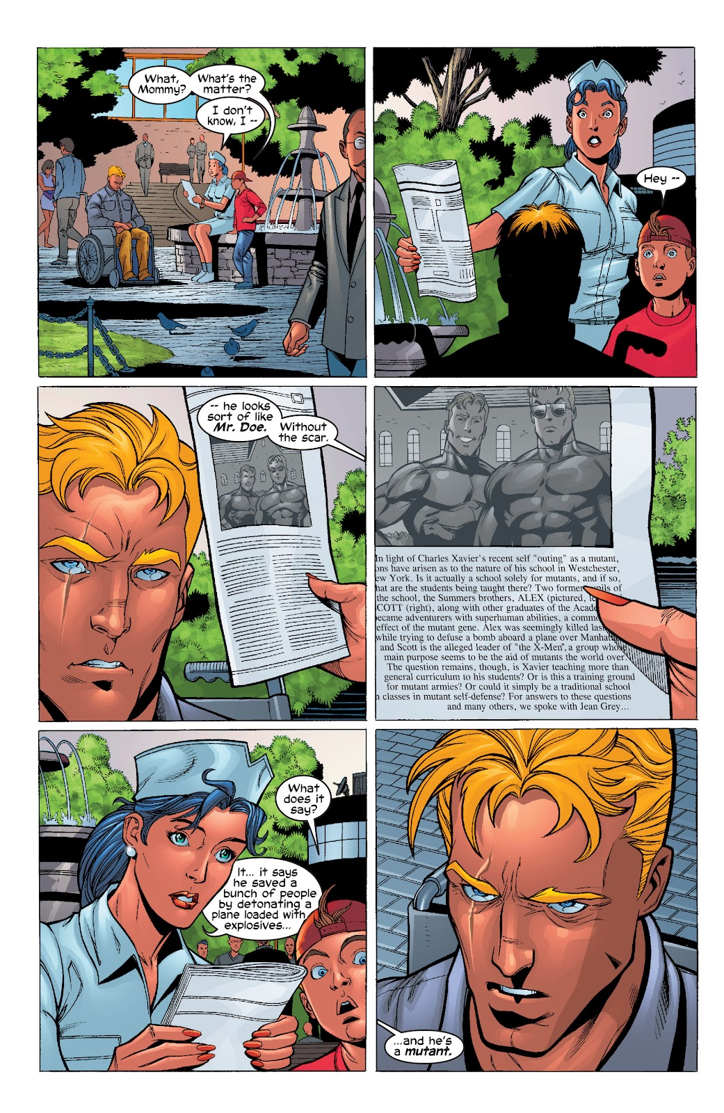 Read online X-Men: Unstoppable comic -  Issue # TPB (Part 1) - 41