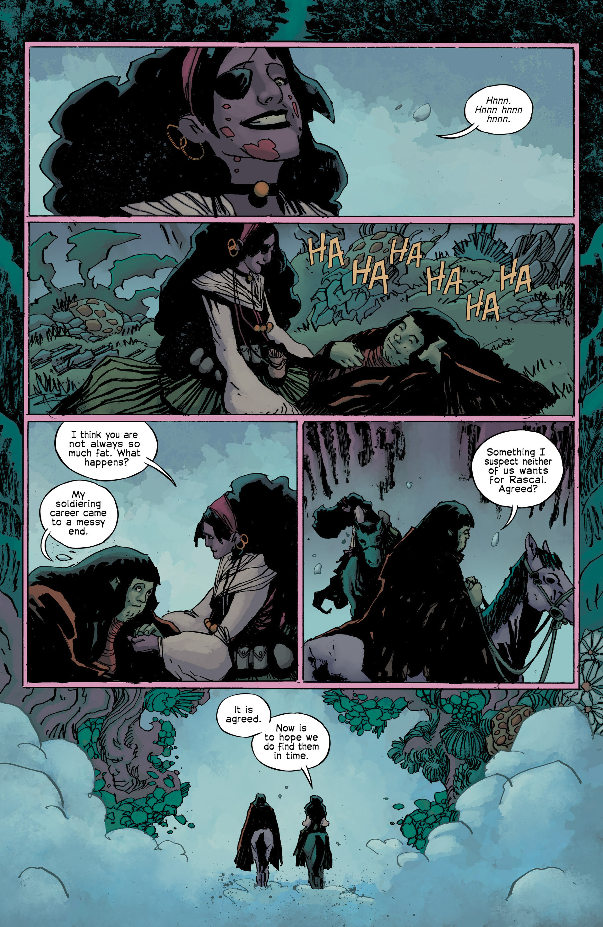 Read online Umbral comic -  Issue #9 - 11