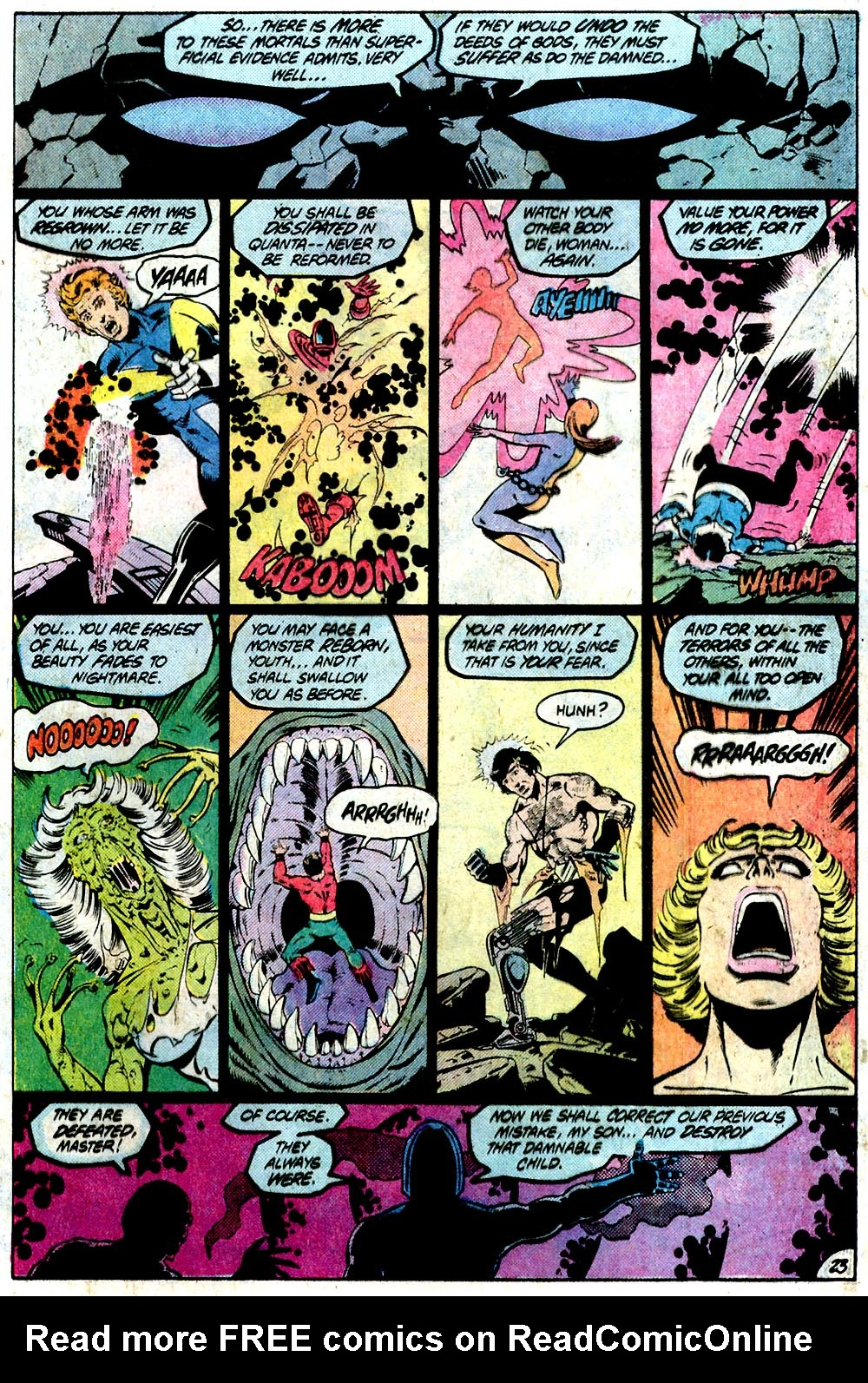 Legion of Super-Heroes (1980) 294 Page 23