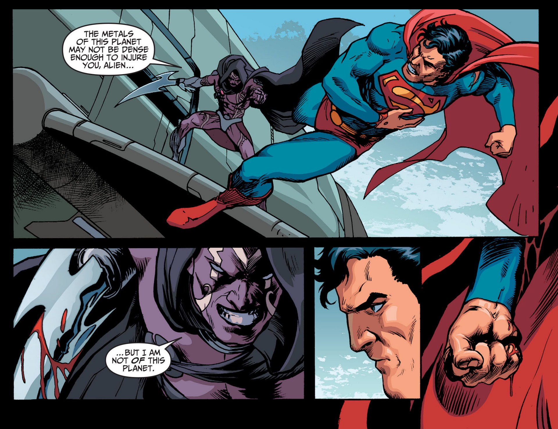 Read online Adventures of Superman [I] comic -  Issue #14 - 14