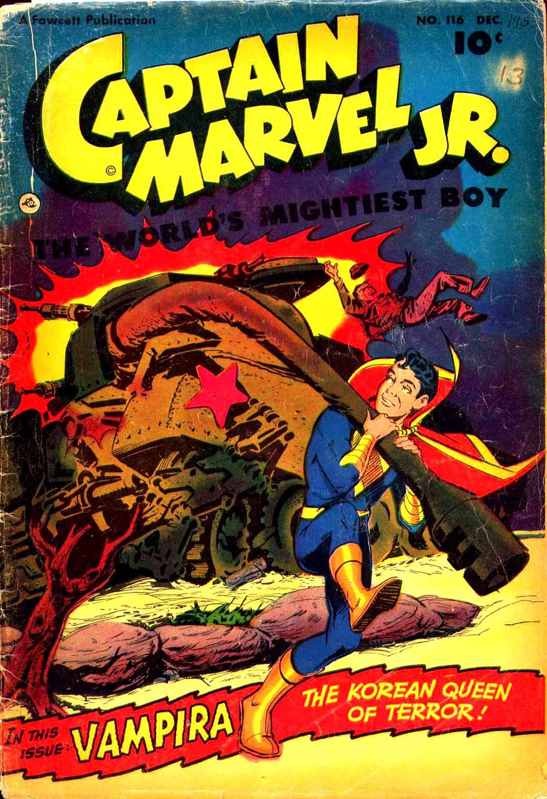 Captain Marvel, Jr. issue 116 - Page 1