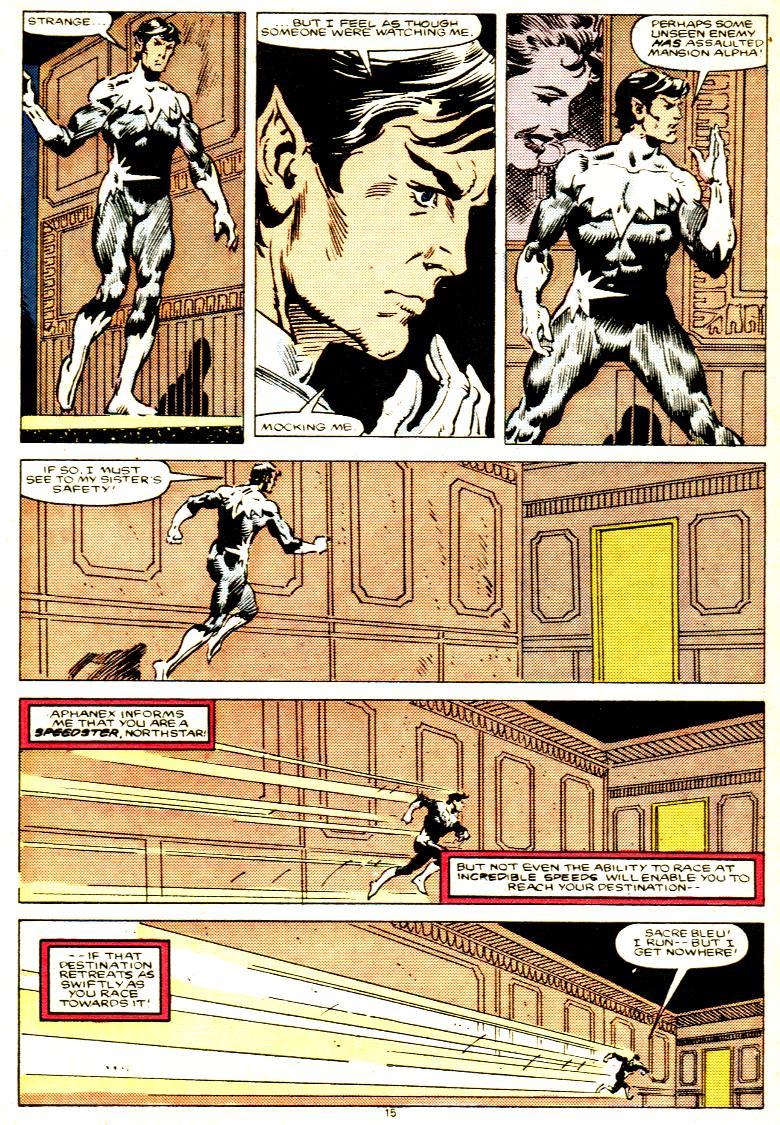 Read online Alpha Flight (1983) comic -  Issue # _Annual 1 - 16