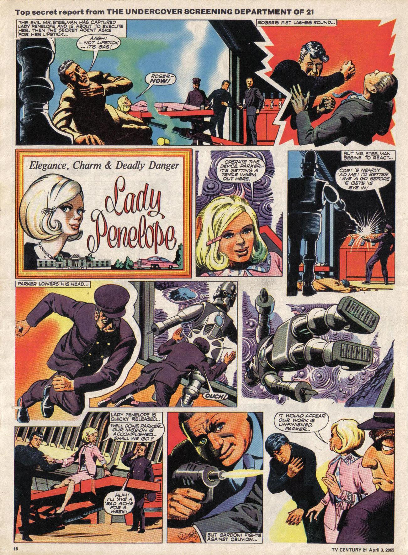 Read online TV Century 21 (TV 21) comic -  Issue #11 - 15