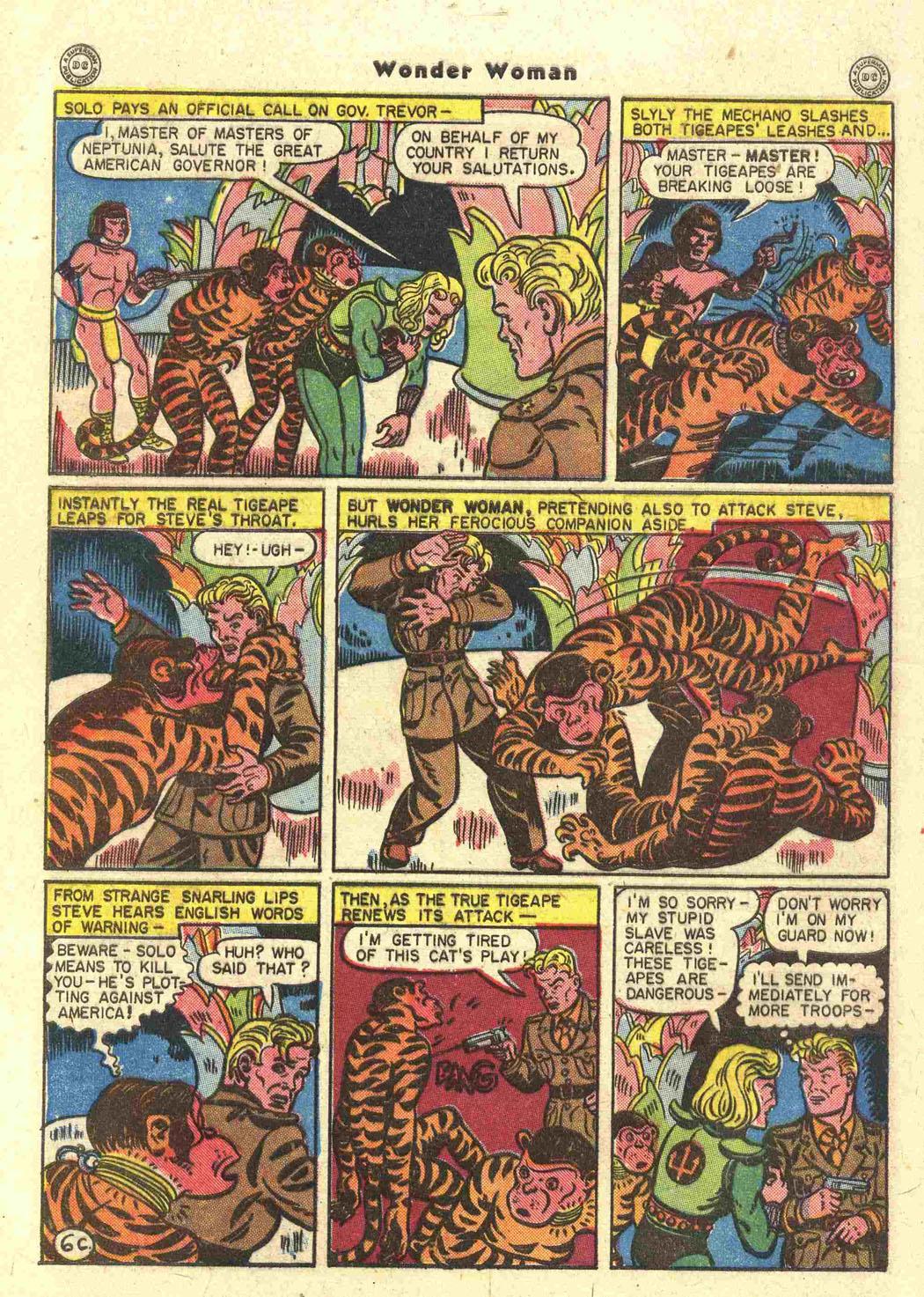 Read online Wonder Woman (1942) comic -  Issue #15 - 40