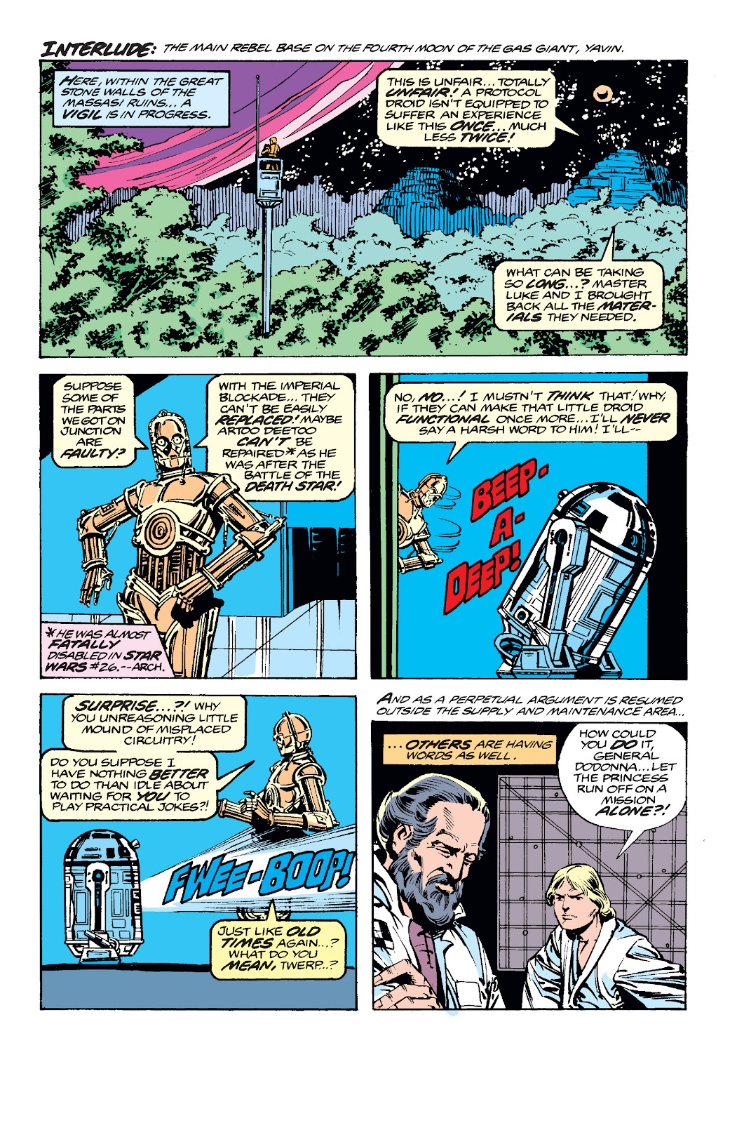 Read online Star Wars Legends: The Original Marvel Years - Epic Collection comic -  Issue # TPB 2 (Part 2) - 6