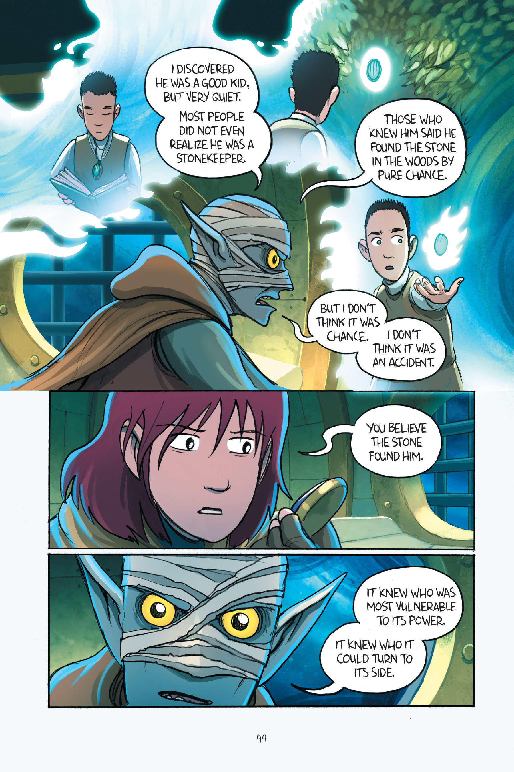 Read online Amulet comic -  Issue #7 - 100