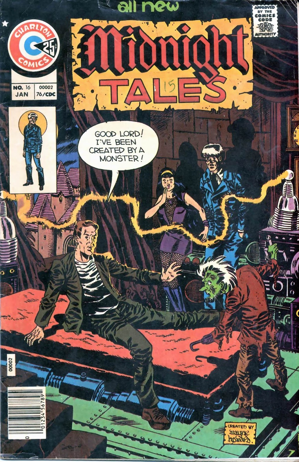 Midnight Tales issue 16 - Page 1