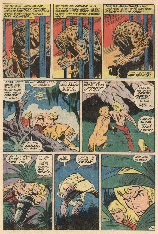Read online Astonishing Tales (1970) comic -  Issue #13 - 13
