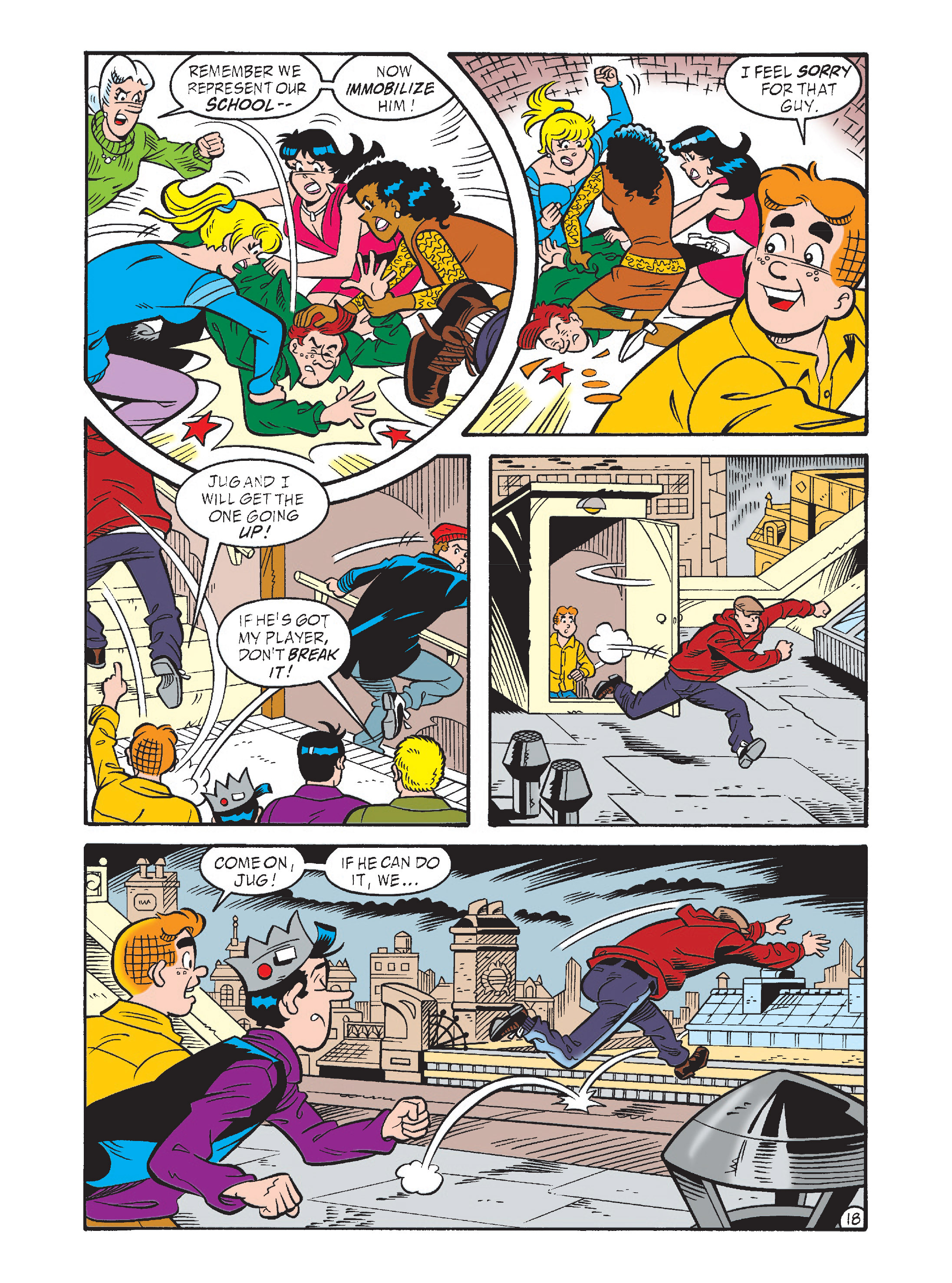 Read online Archie's Funhouse Double Digest comic -  Issue #1 - 53