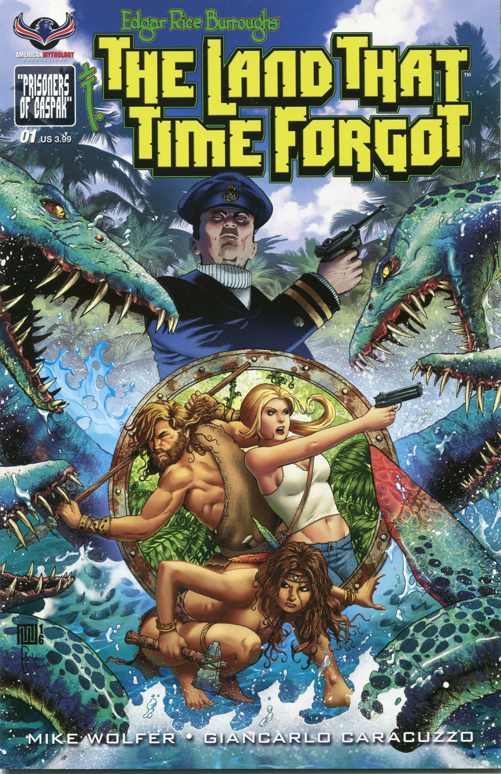 Edgar Rice Burroughs The Land That Time Forgot issue 1 - Page 1