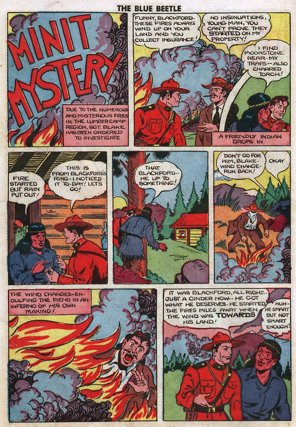 The Blue Beetle issue 33 - Page 14