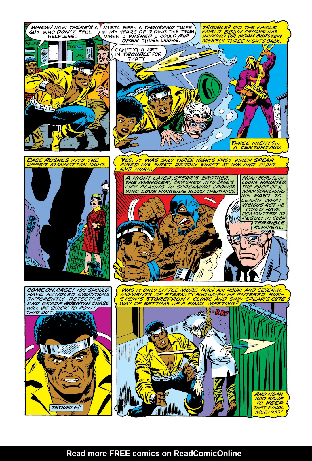 Read online Marvel Masterworks: Luke Cage, Power Man comic -  Issue # TPB 3 (Part 1) - 65