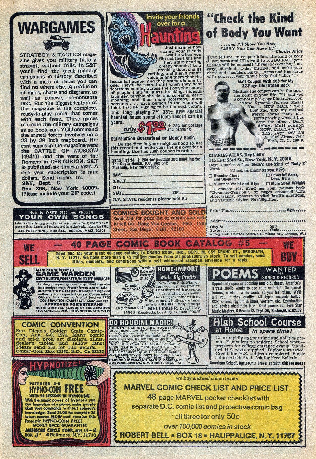 Read online Amazing Adventures (1970) comic -  Issue #8 - 27