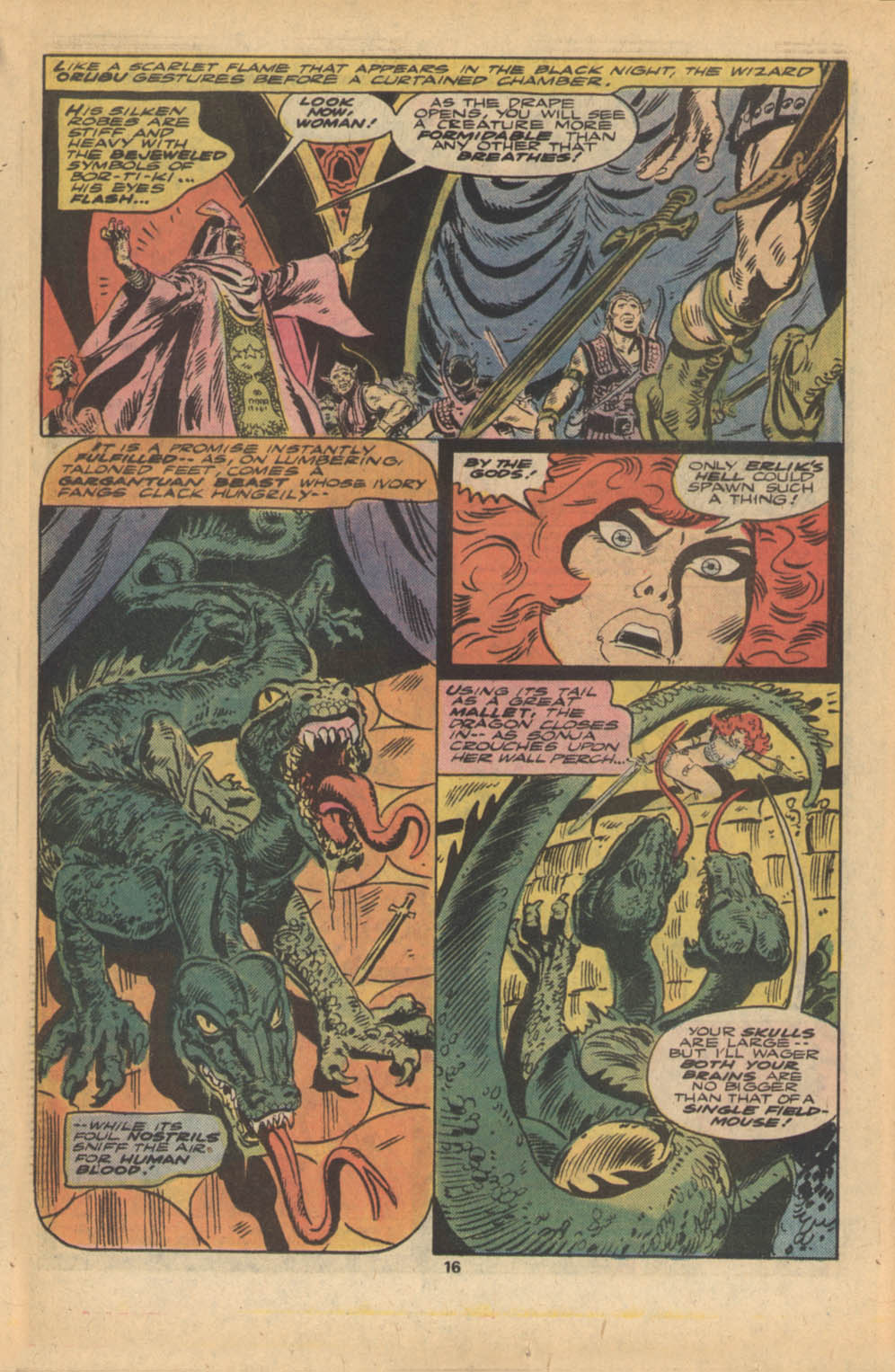 Red Sonja (1977) issue 5 - Page 11