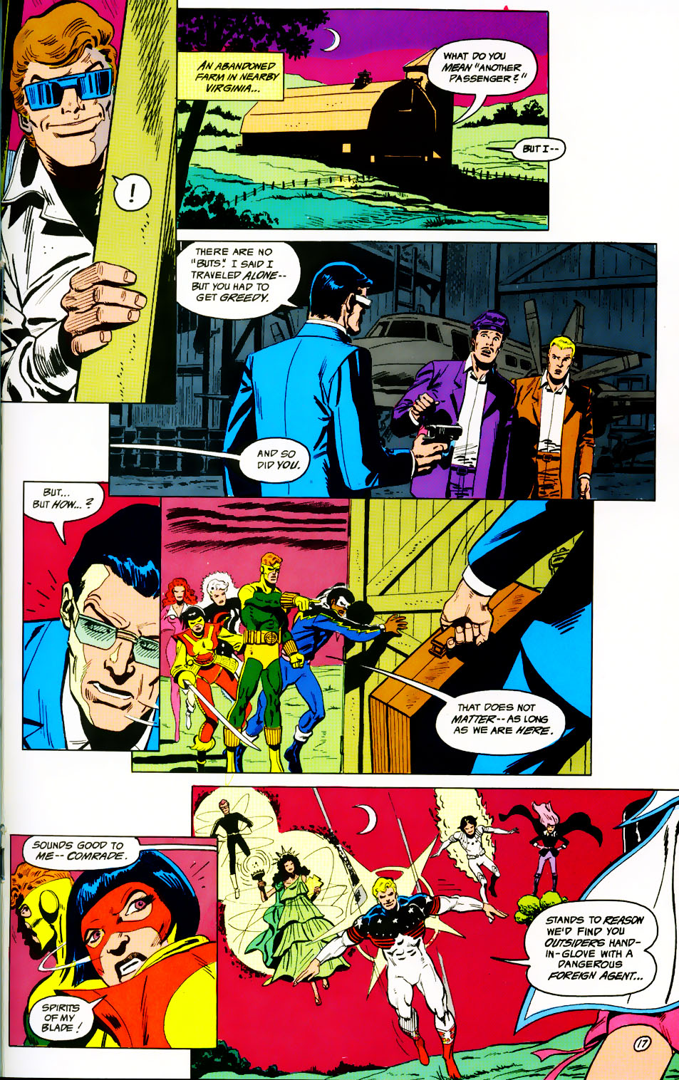 Read online Adventures of the Outsiders comic -  Issue #41 - 18