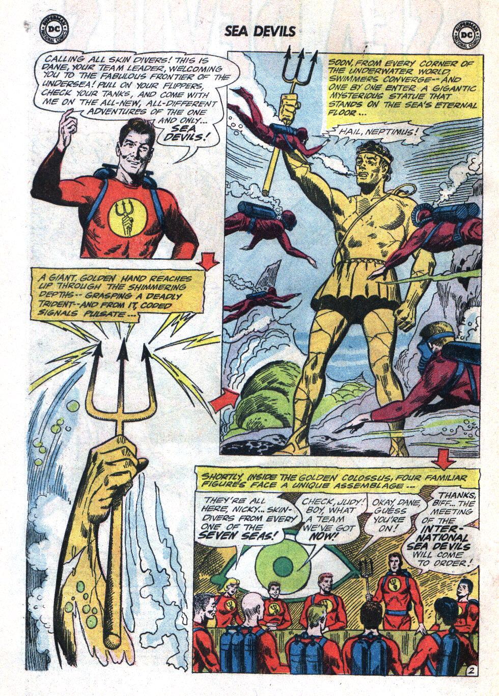 Read online Sea Devils comic -  Issue #22 - 4