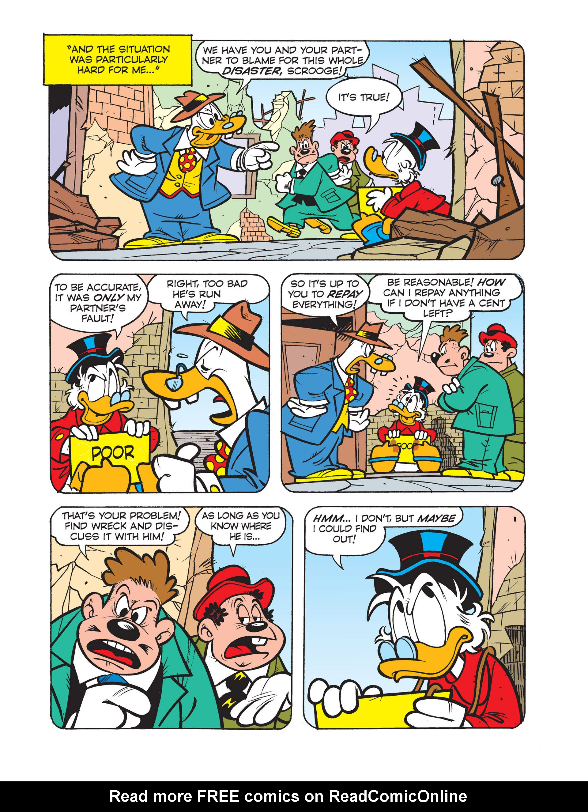 Read online All of Scrooge McDuck's Millions comic -  Issue #4 - 14
