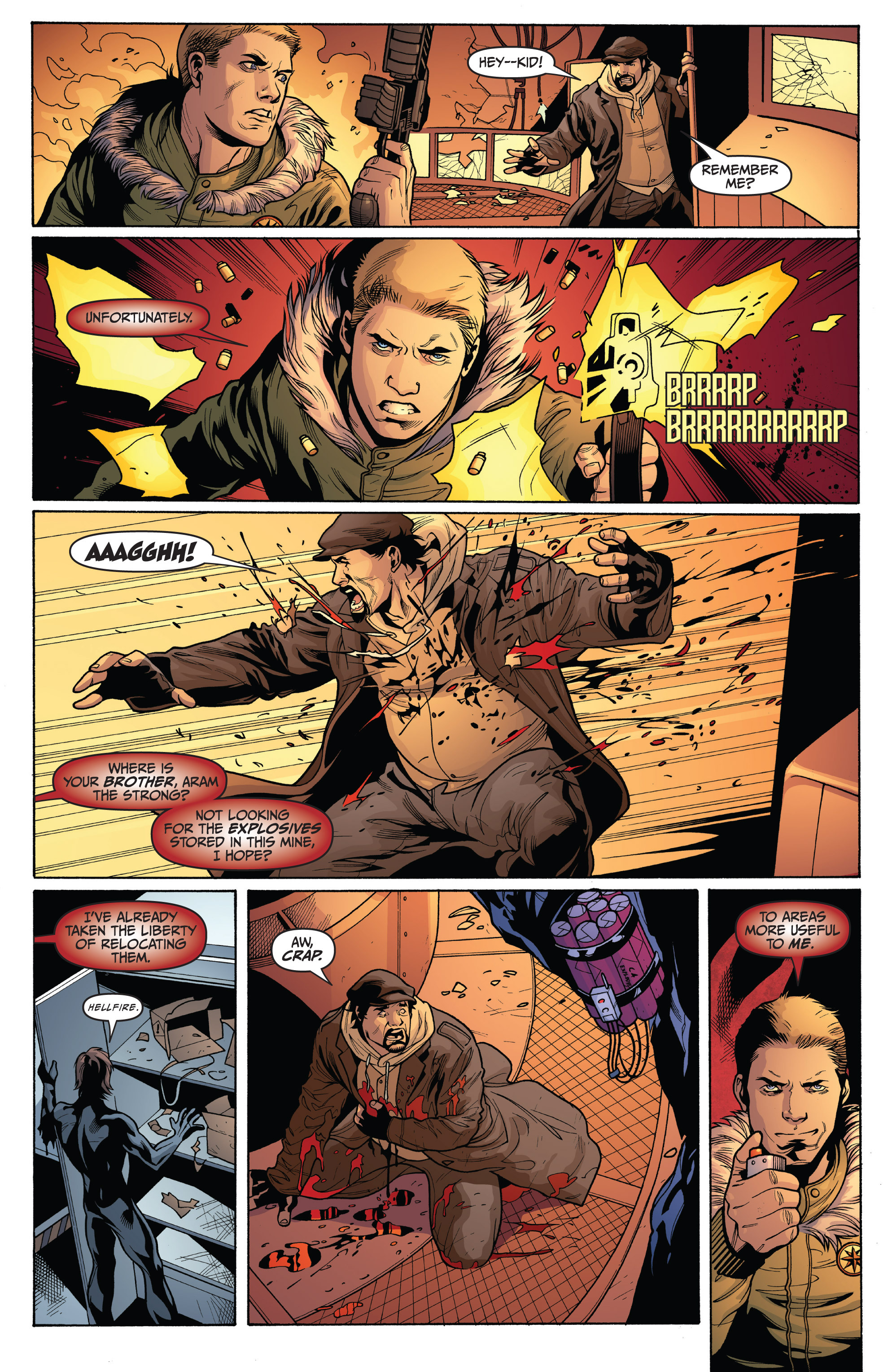 Read online Archer and Armstrong comic -  Issue #9 - 13