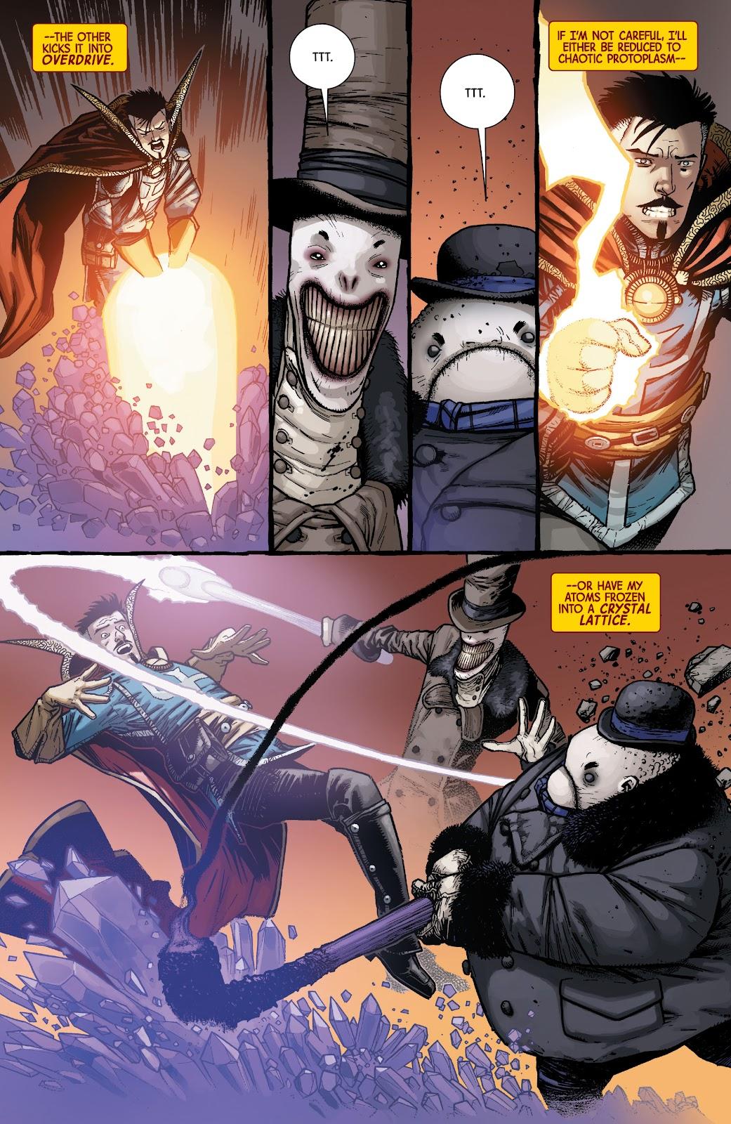 Read online Dr. Strange comic -  Issue #5 - 4