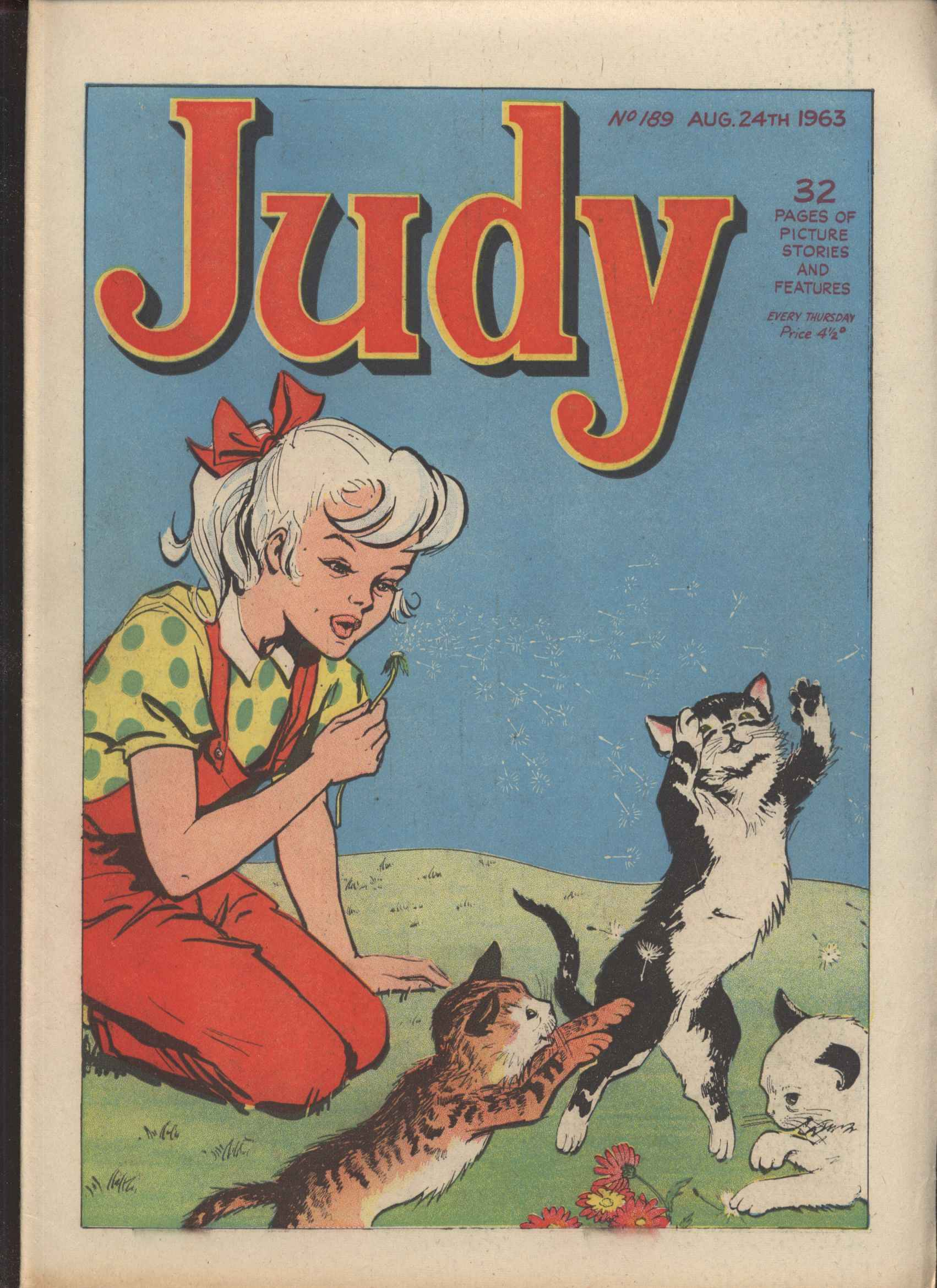 Read online Judy comic -  Issue #189 - 1