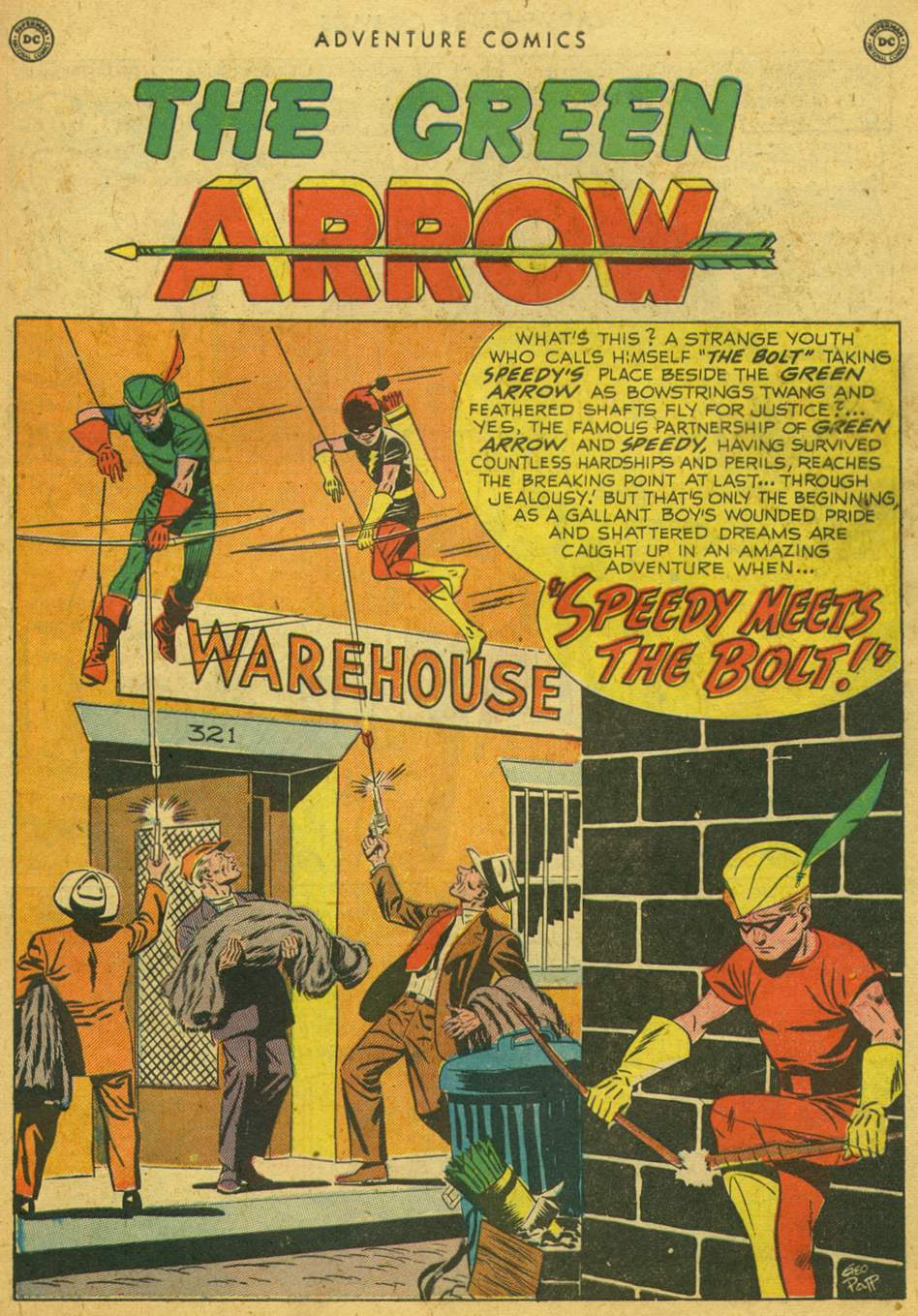 Read online Adventure Comics (1938) comic -  Issue #164 - 39