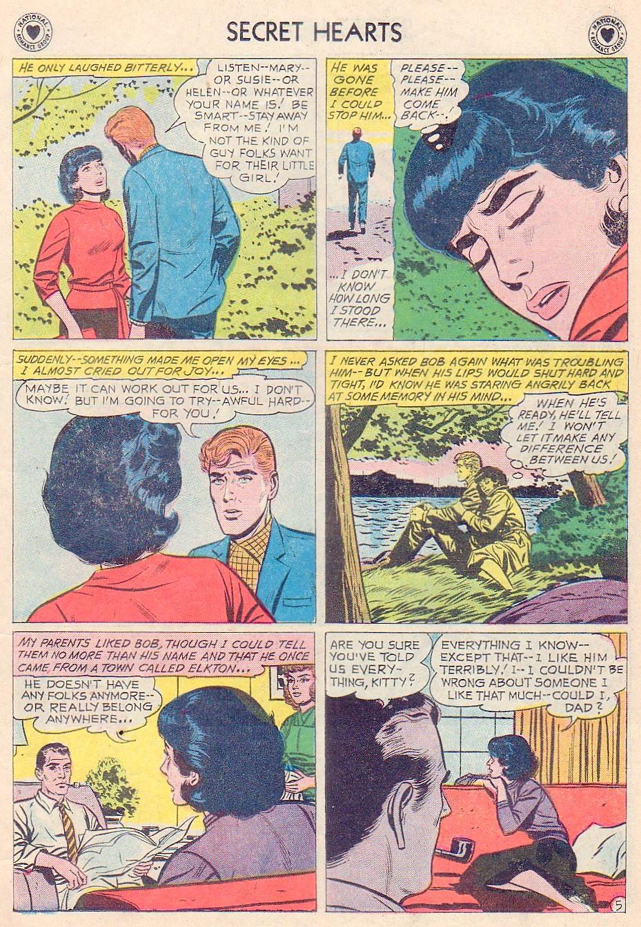 Read online Secret Hearts comic -  Issue #72 - 7