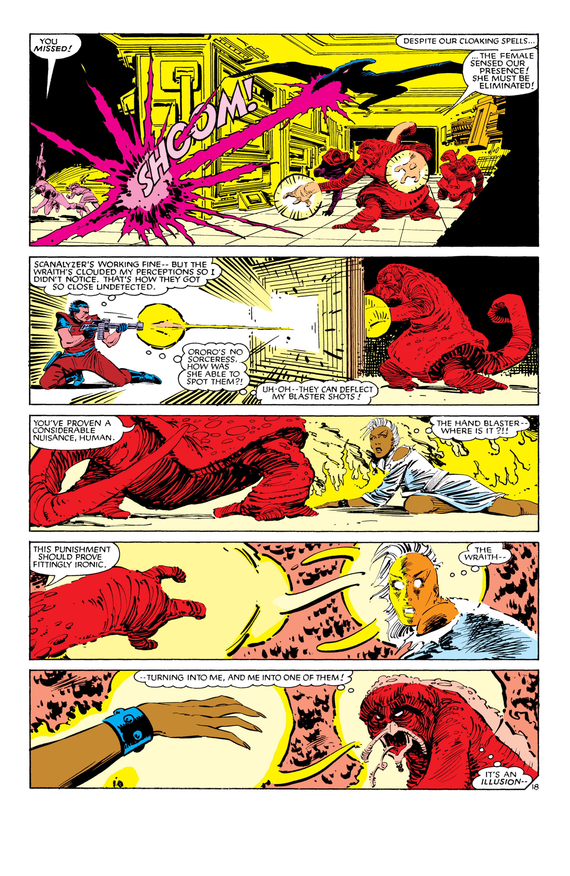 Read online Uncanny X-Men (1963) comic -  Issue #187 - 19