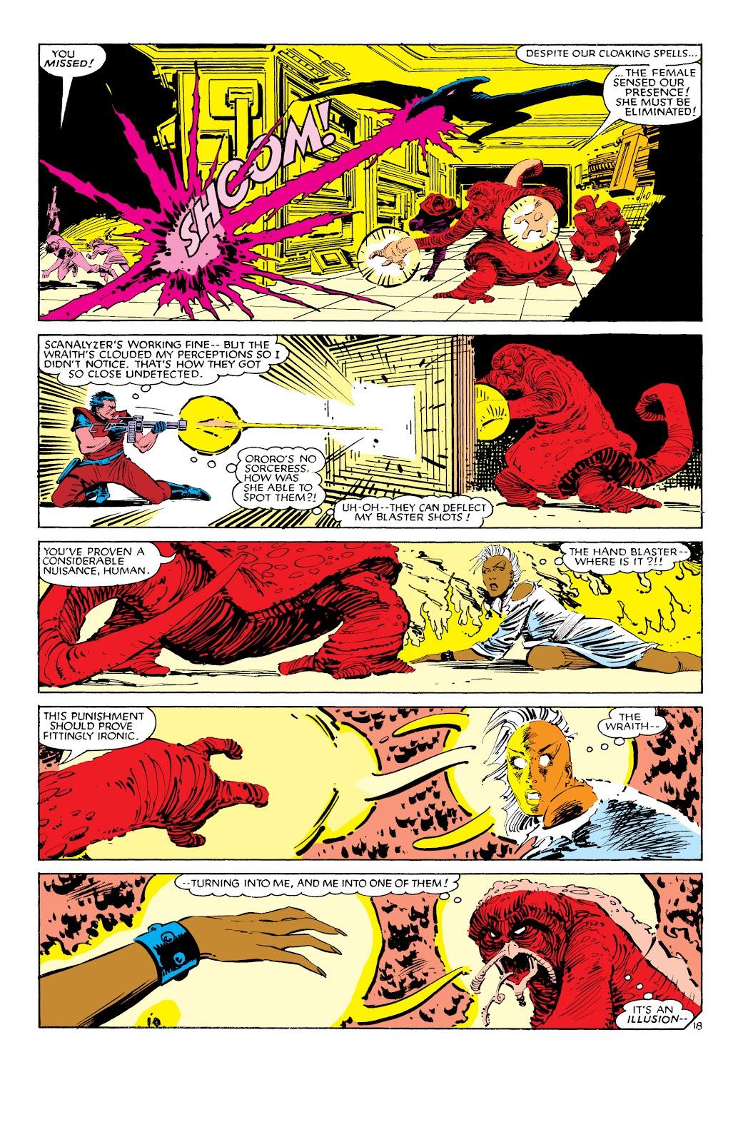 Uncanny X-Men (1963) issue 187 - Page 19