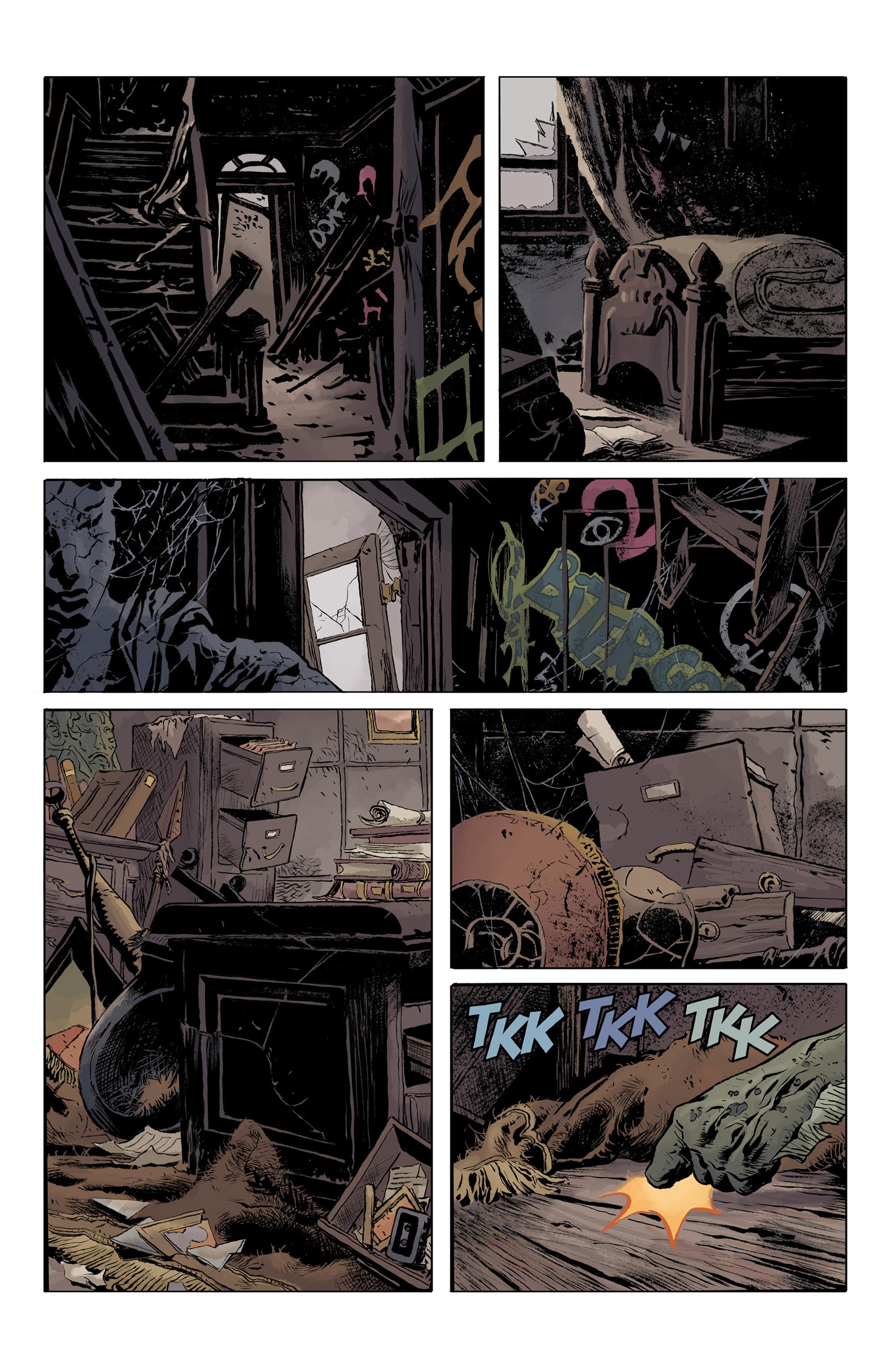 Read online Abe Sapien comic -  Issue #32 - 4