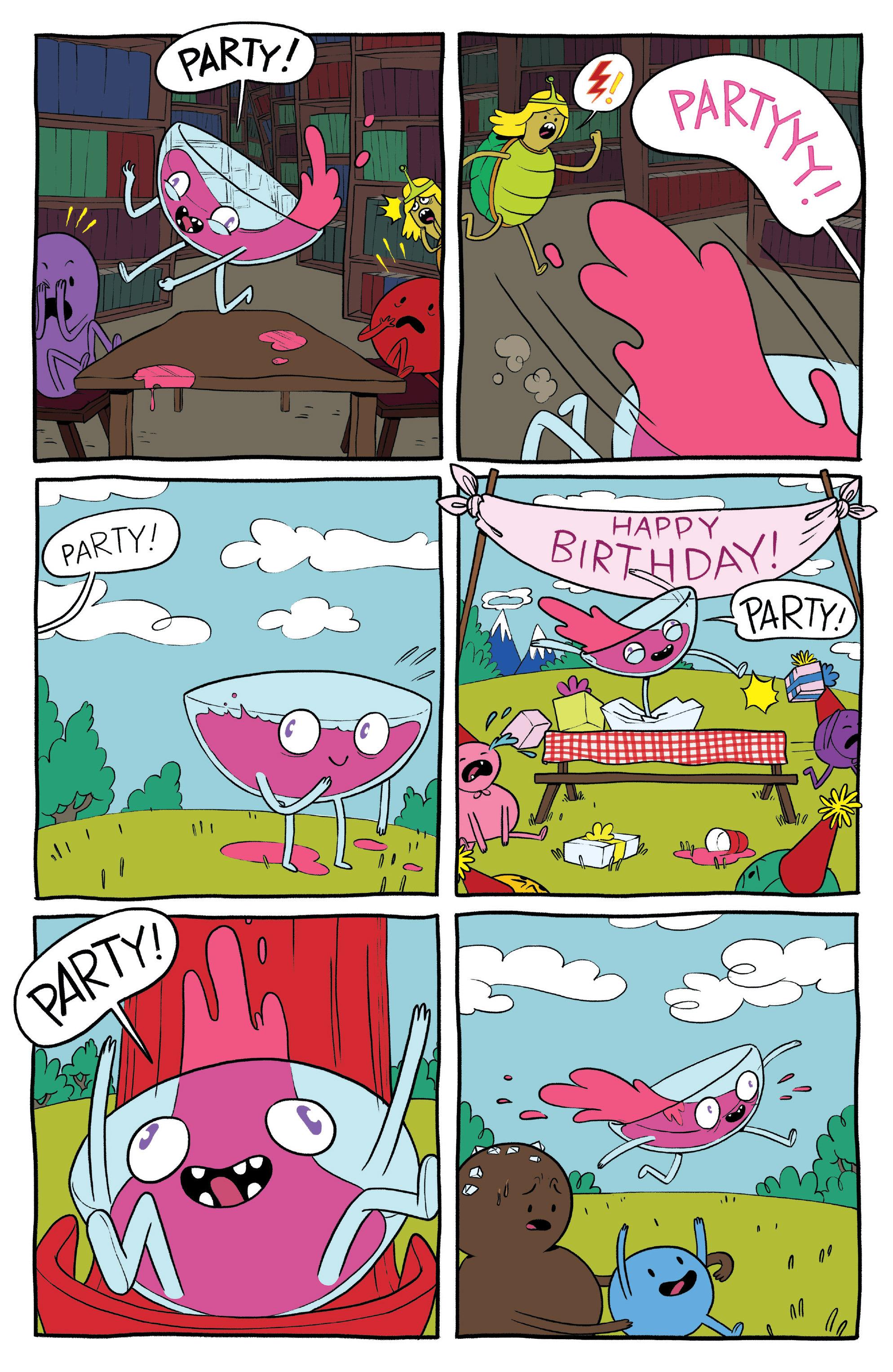 Read online Adventure Time: Banana Guard Academ comic -  Issue #1 - 22