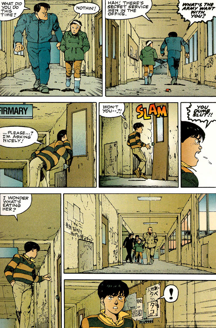 Read online Akira comic -  Issue #3 - 17