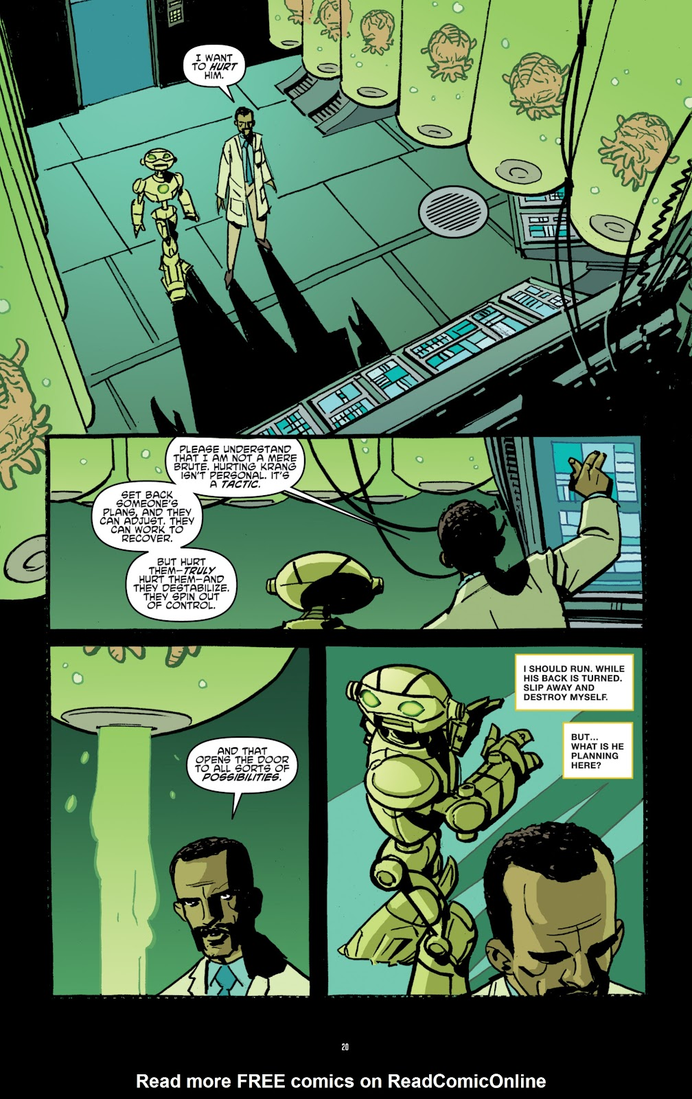 Read online Teenage Mutant Ninja Turtles: The IDW Collection comic -  Issue # TPB 4 (Part 1) - 49
