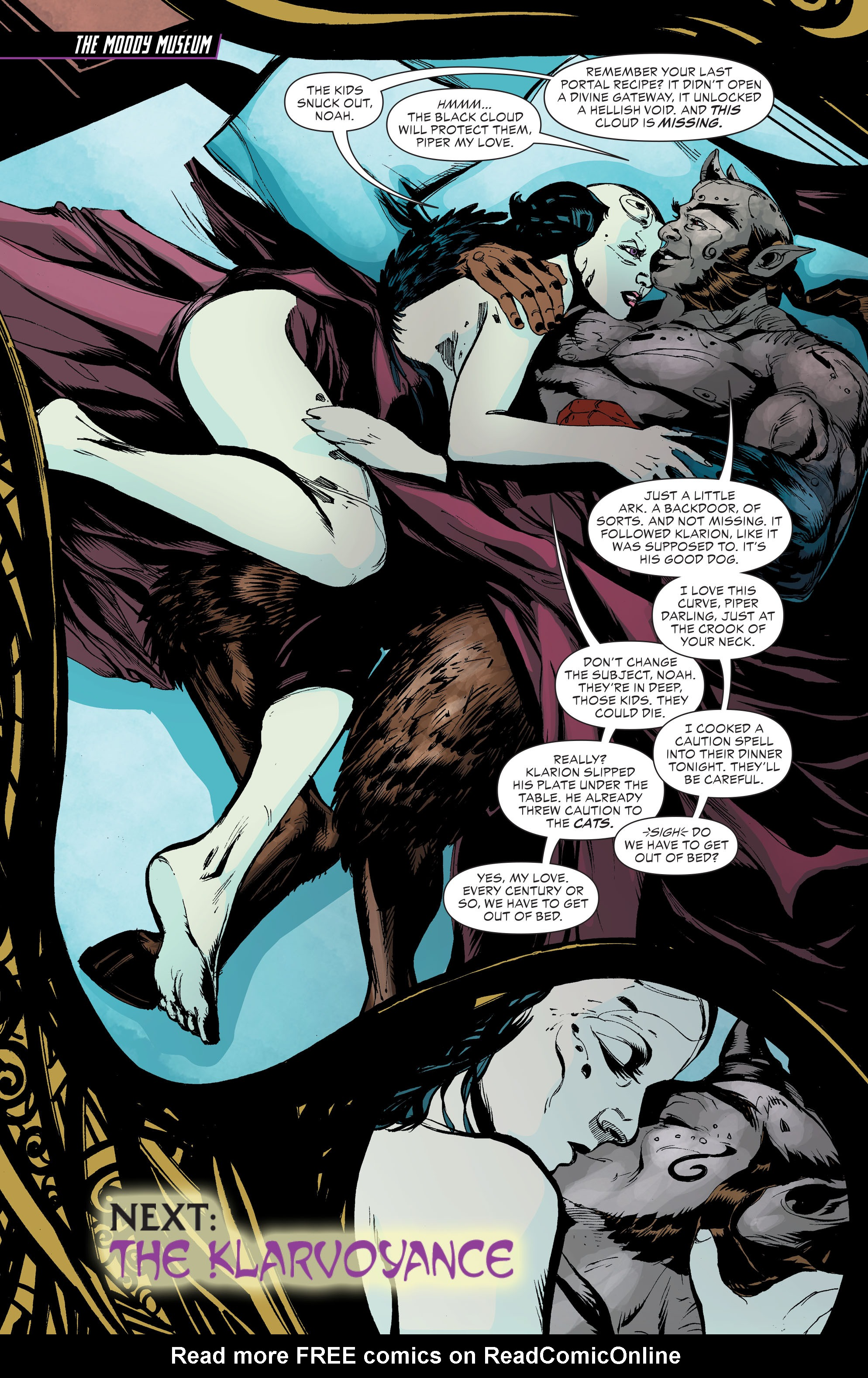 Read online Klarion comic -  Issue #3 - 14