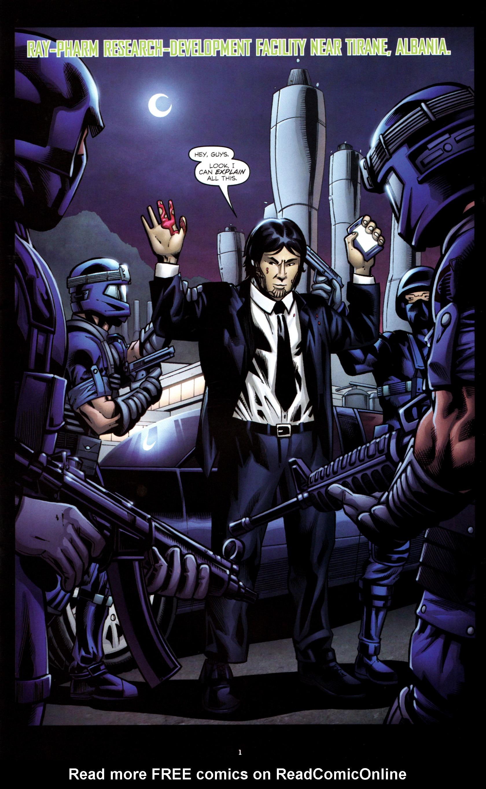 Read online G.I. Joe: Snake Eyes comic -  Issue #8 - 4