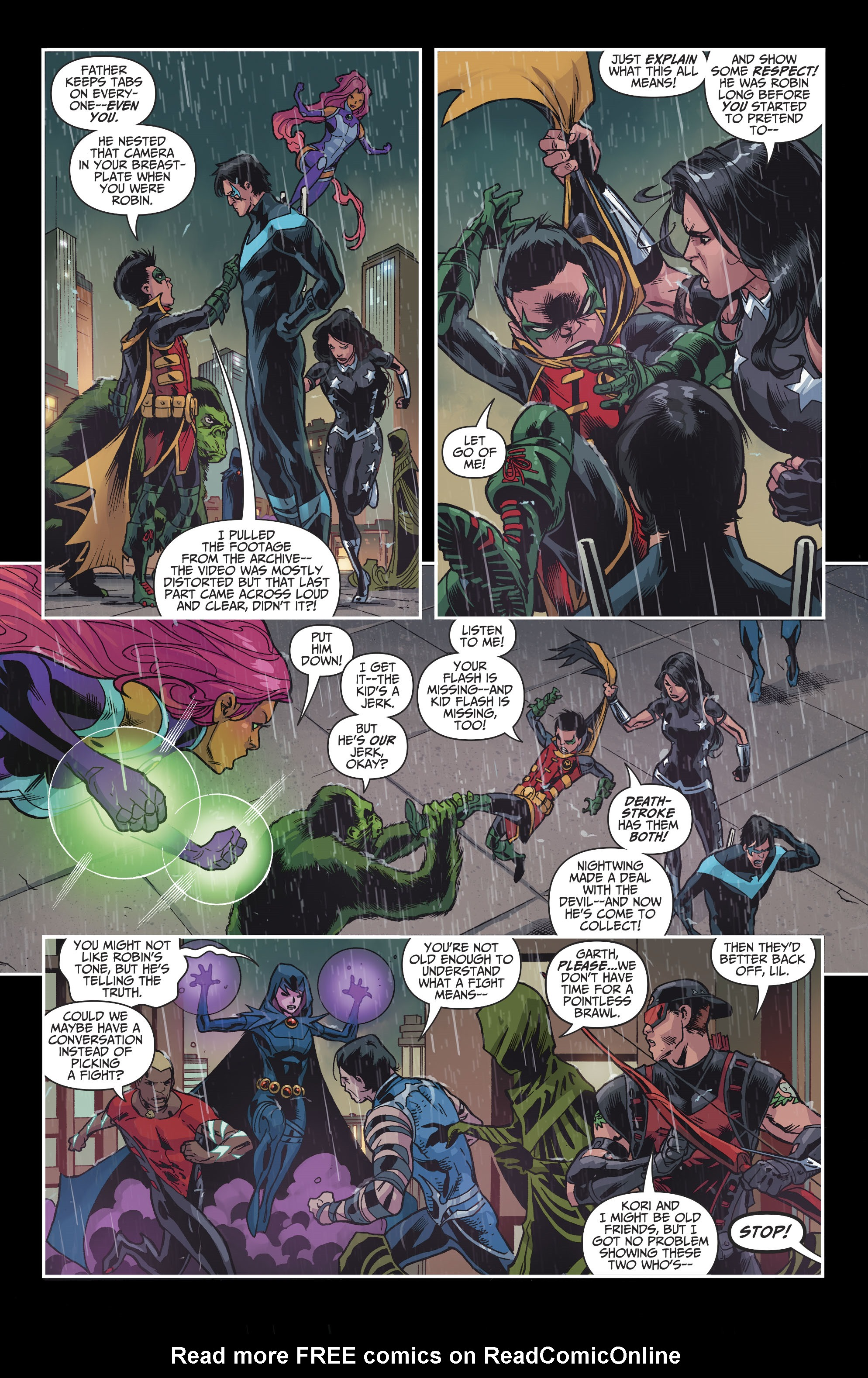 Read online Teen Titans (2016) comic -  Issue #8 - 14