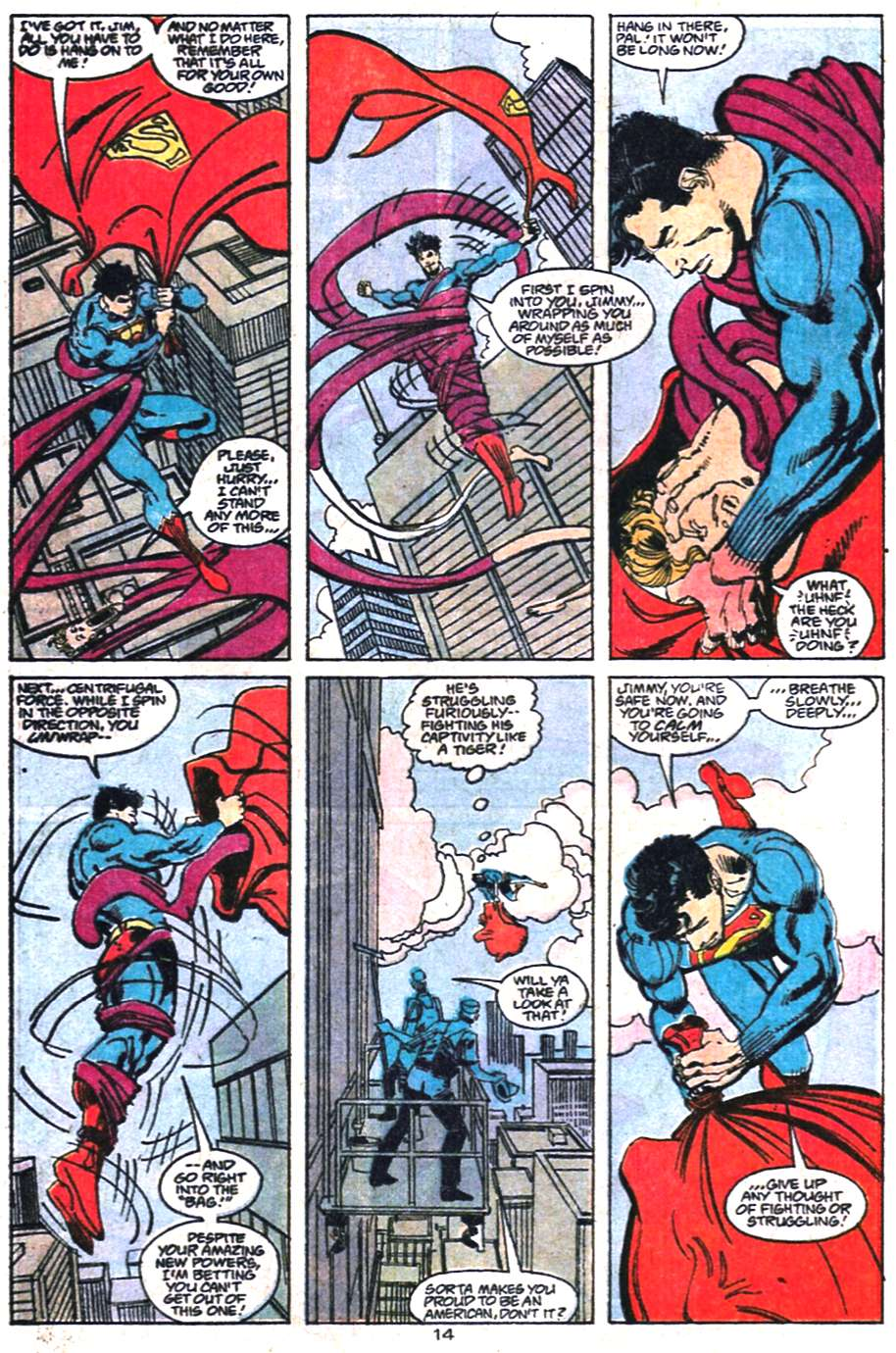 Read online Adventures of Superman (1987) comic -  Issue #458 - 15